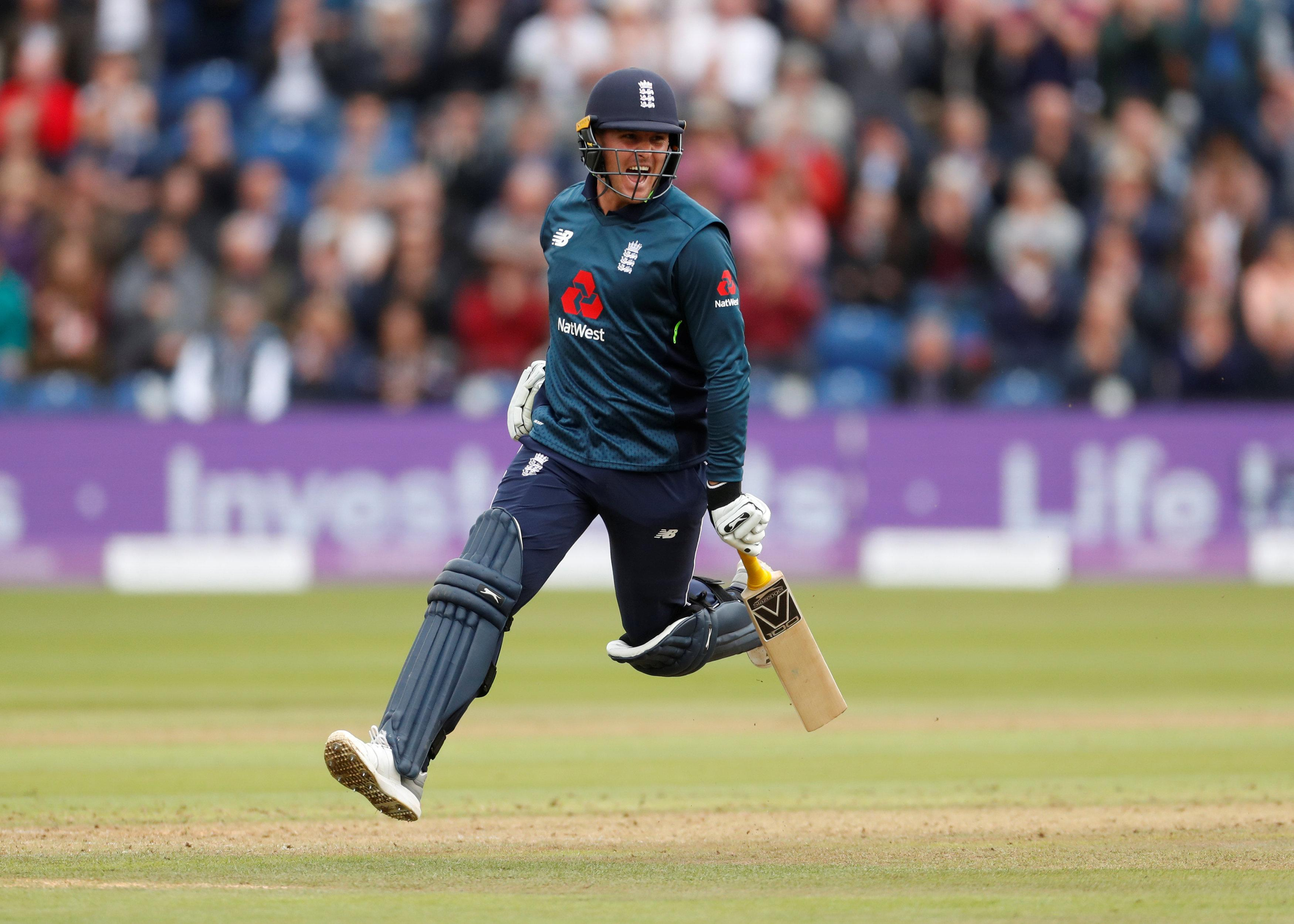 Jason Roy's century propelled England to a huge total and a 2-0 lead in the series