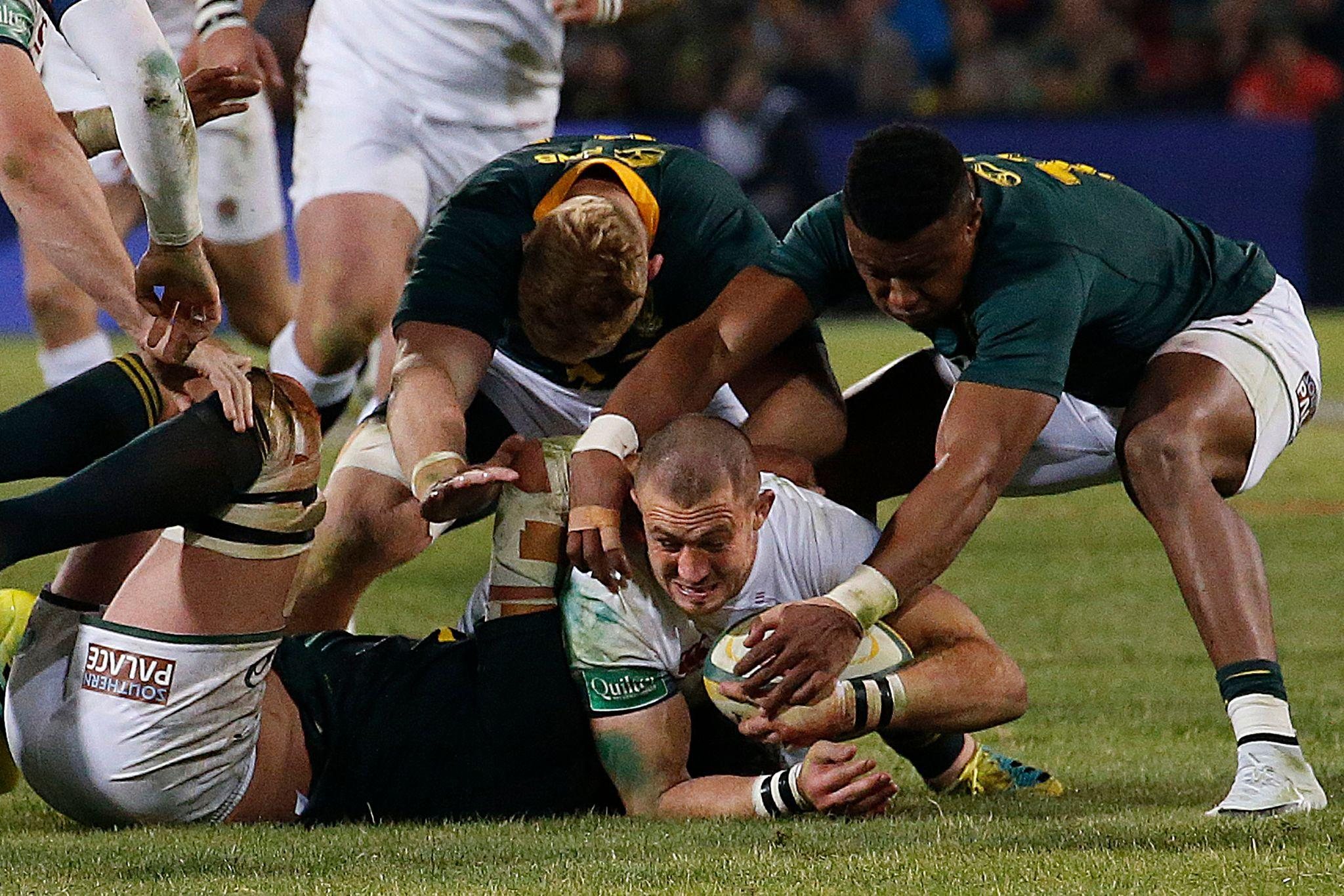 It's the same old story for England in South Africa