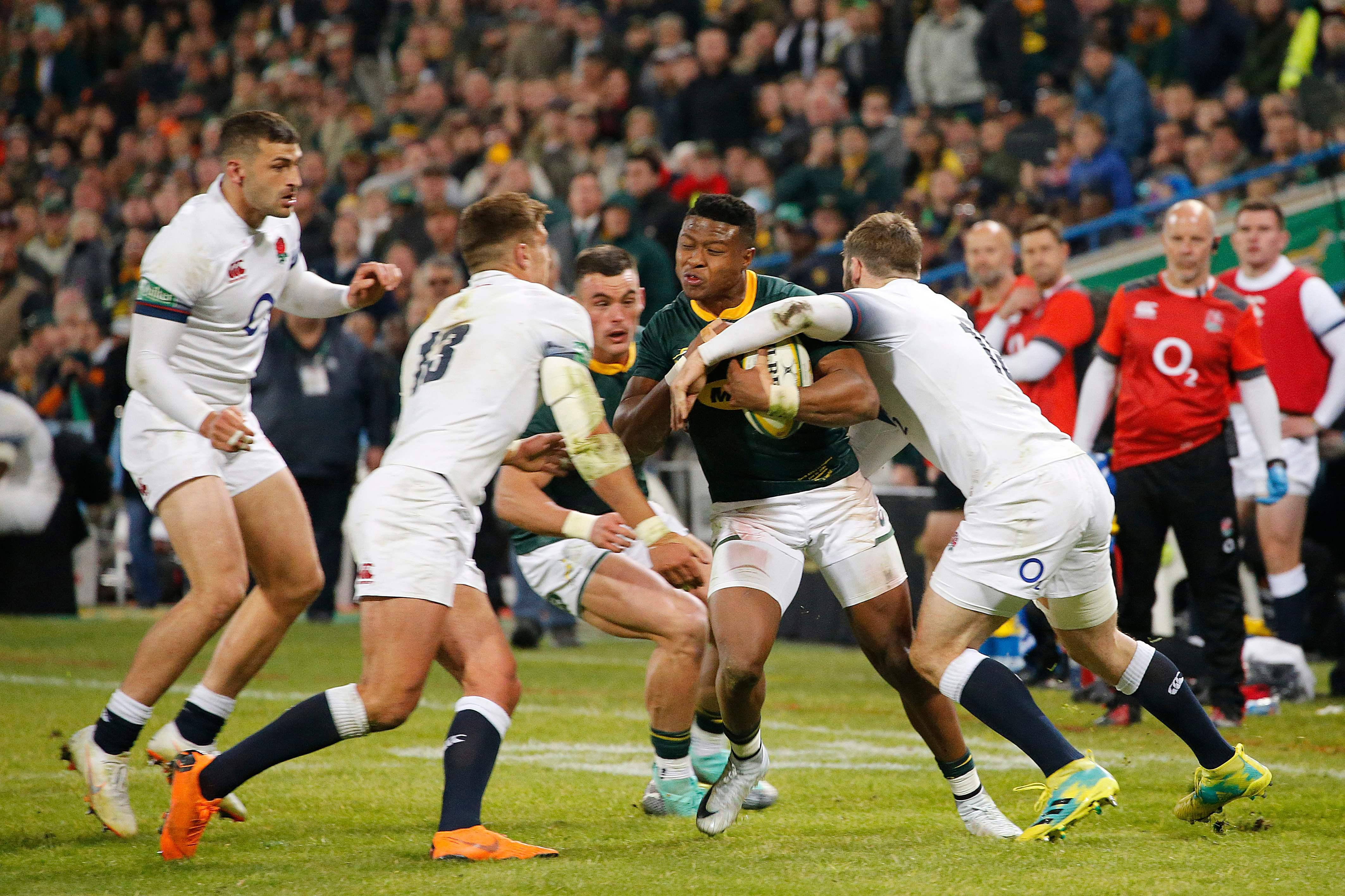 South Africa came back to run out 23-12 winners