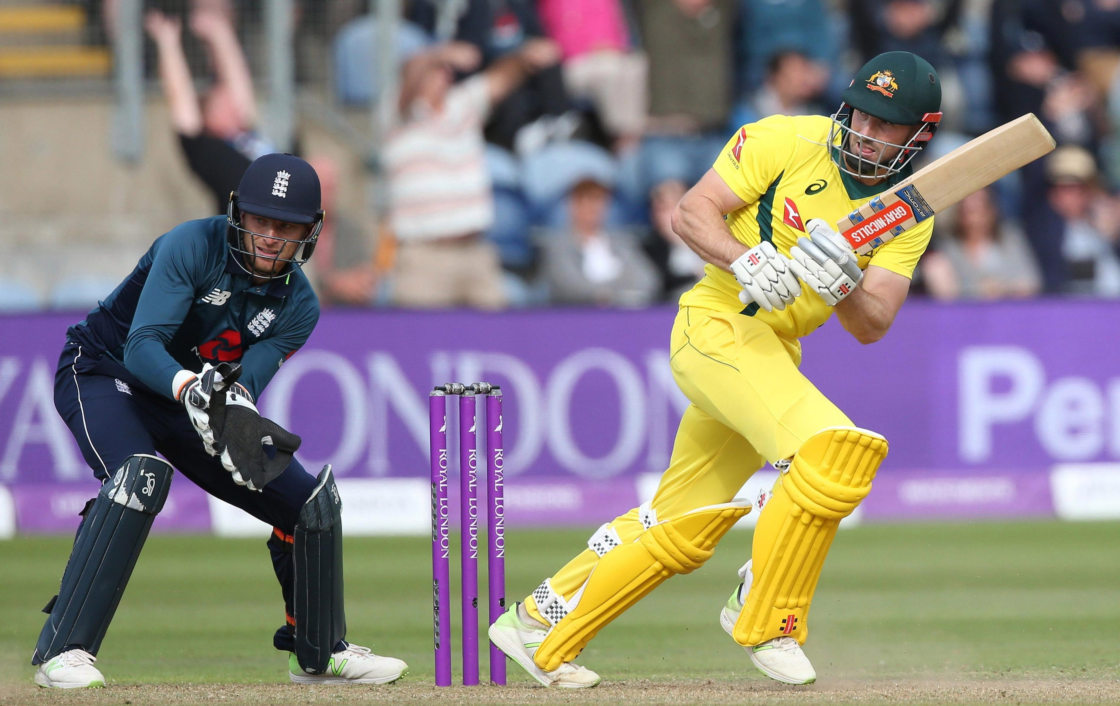 Shaun Marsh provided the only resistance for Australia with his century