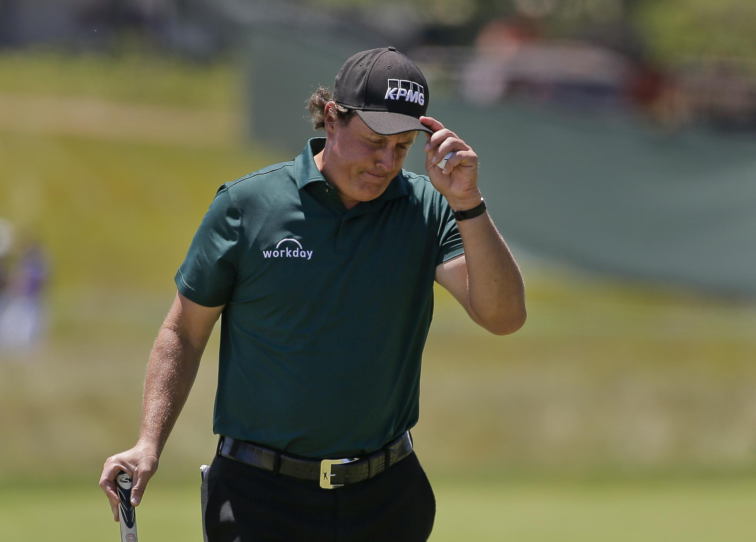 Mickelson will be hoping for better fortunes at the US Open