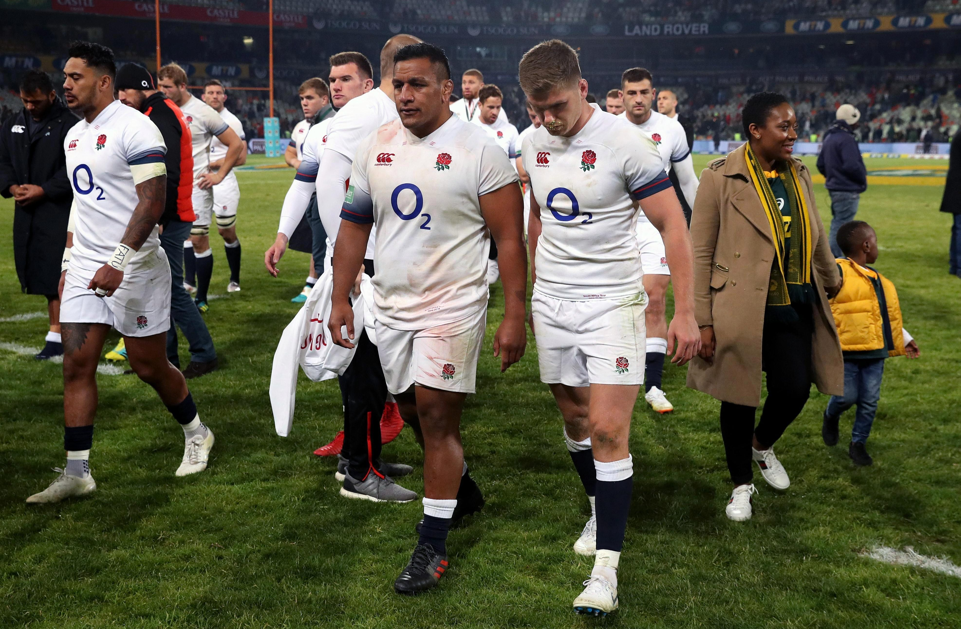 England blew another lead as they lost to South Africa again last weekend