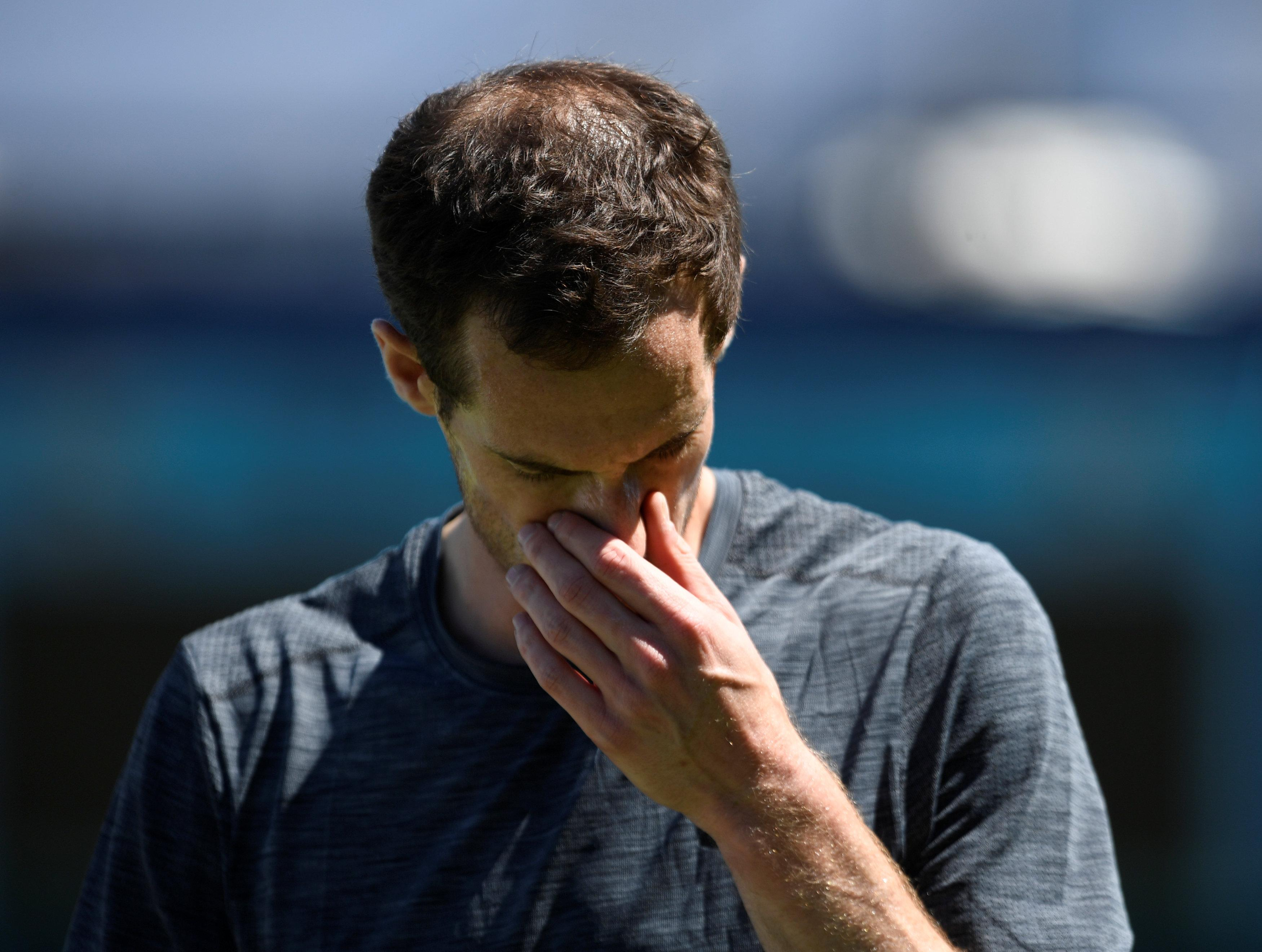 Former world No1 Andy Murray has talked about the 'lowest point' of his career
