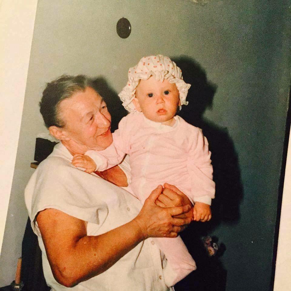 Family man Robert Lewandowski with his grandma