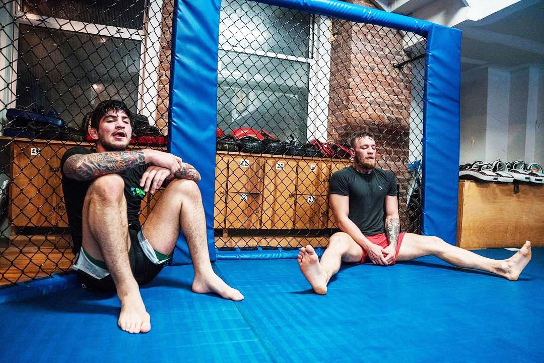 Dillon Danis and Conor McGregor are back in training