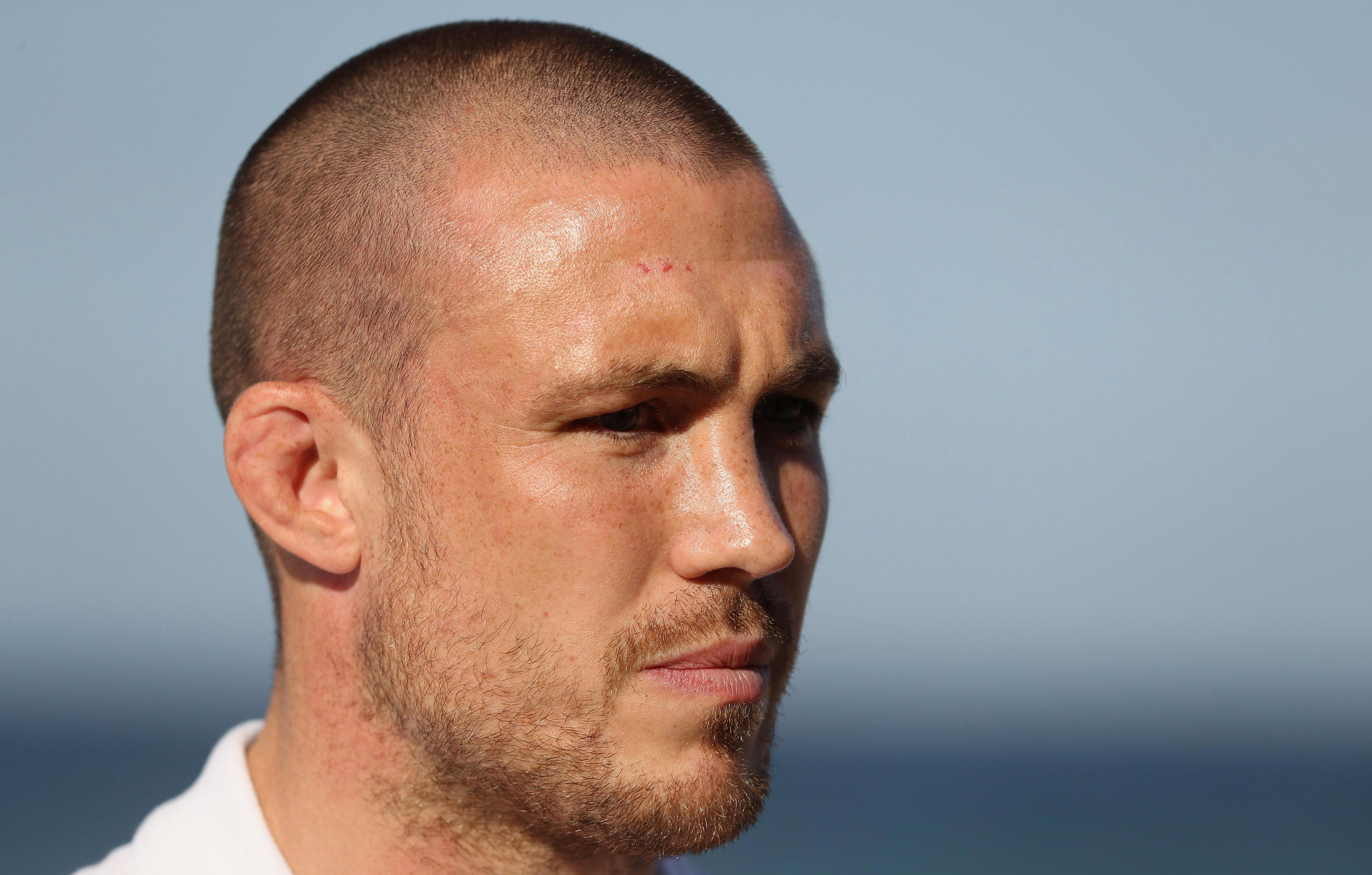 England star Mike Brown has come under criticism by a minority of Red Rose fans - and says he will take on any critics