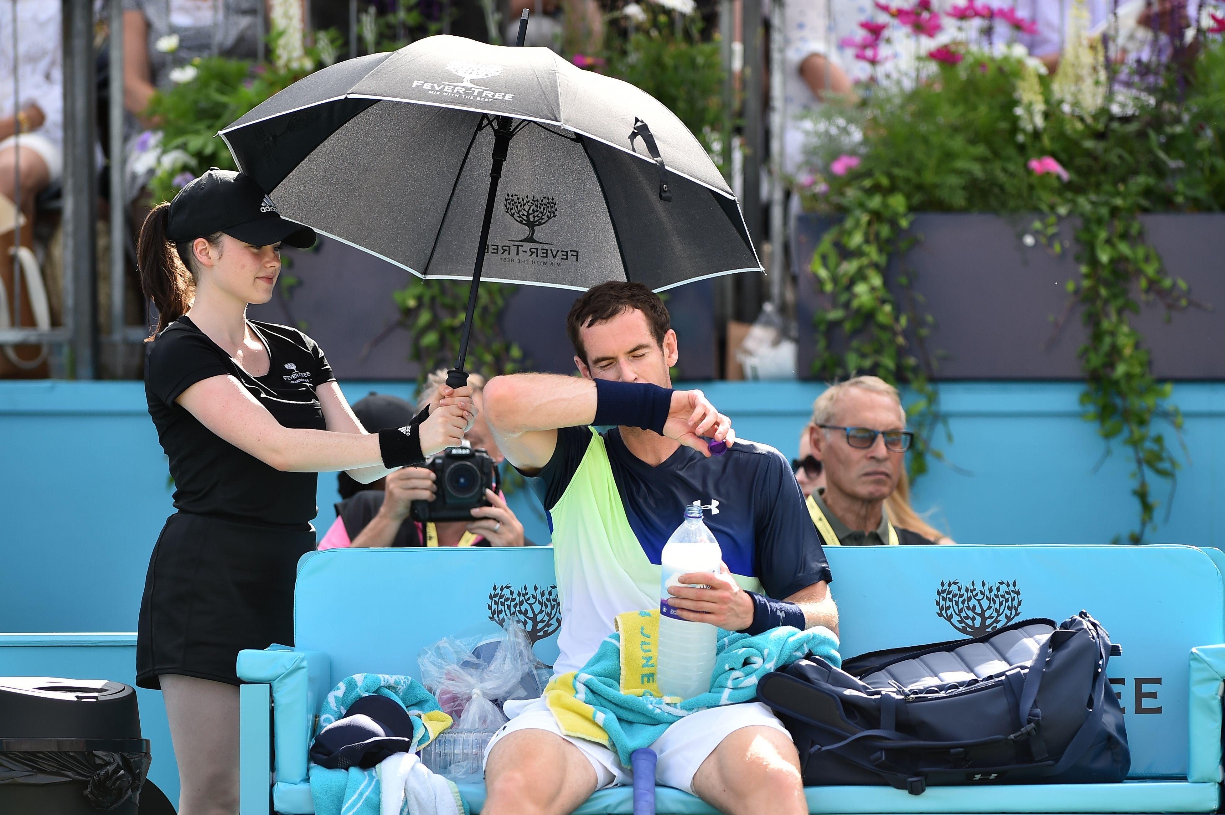 Murray lost on his tennis return against Australian star Kyrgios