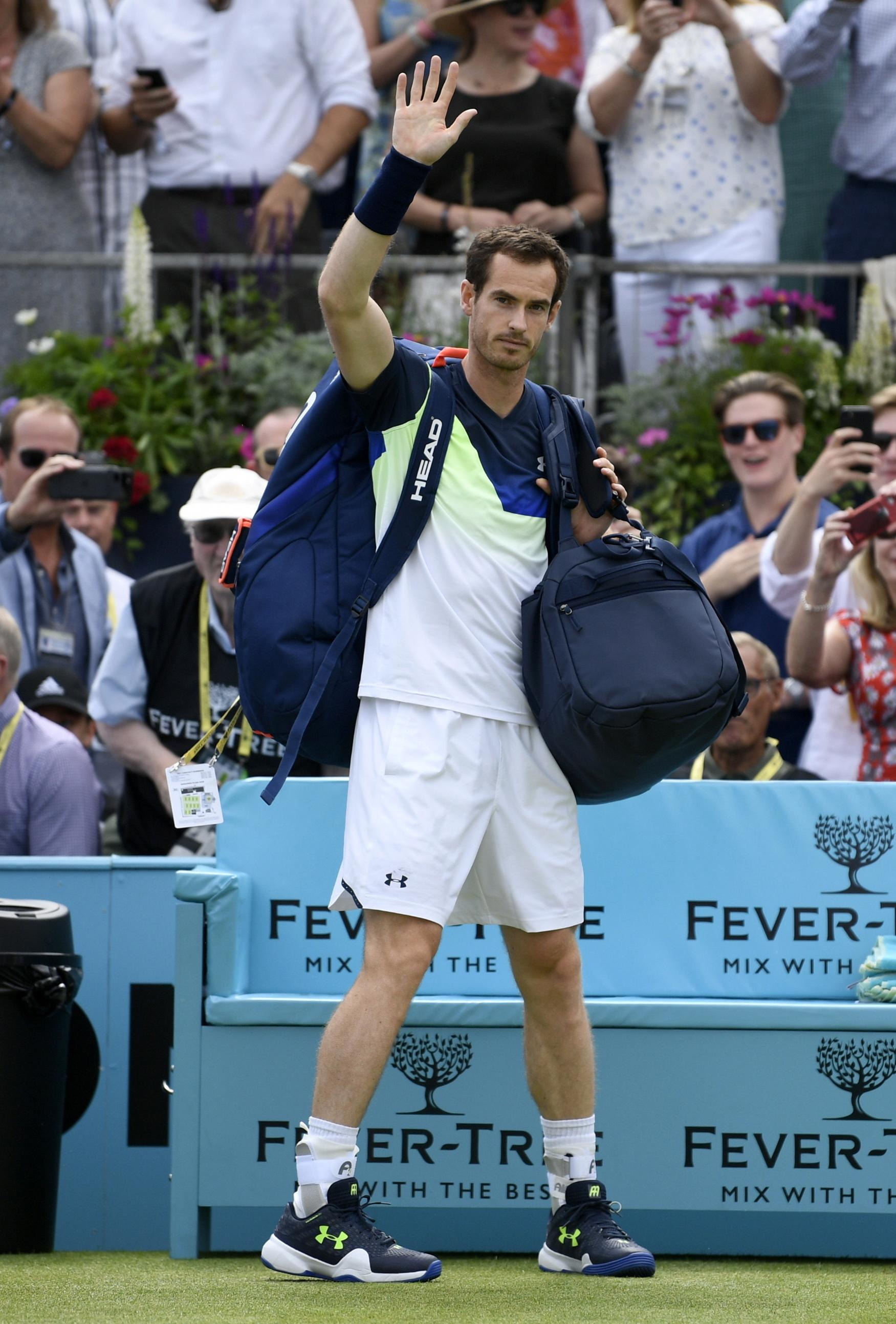 Andy Murray could miss Wimbledon depending on how his body reacts