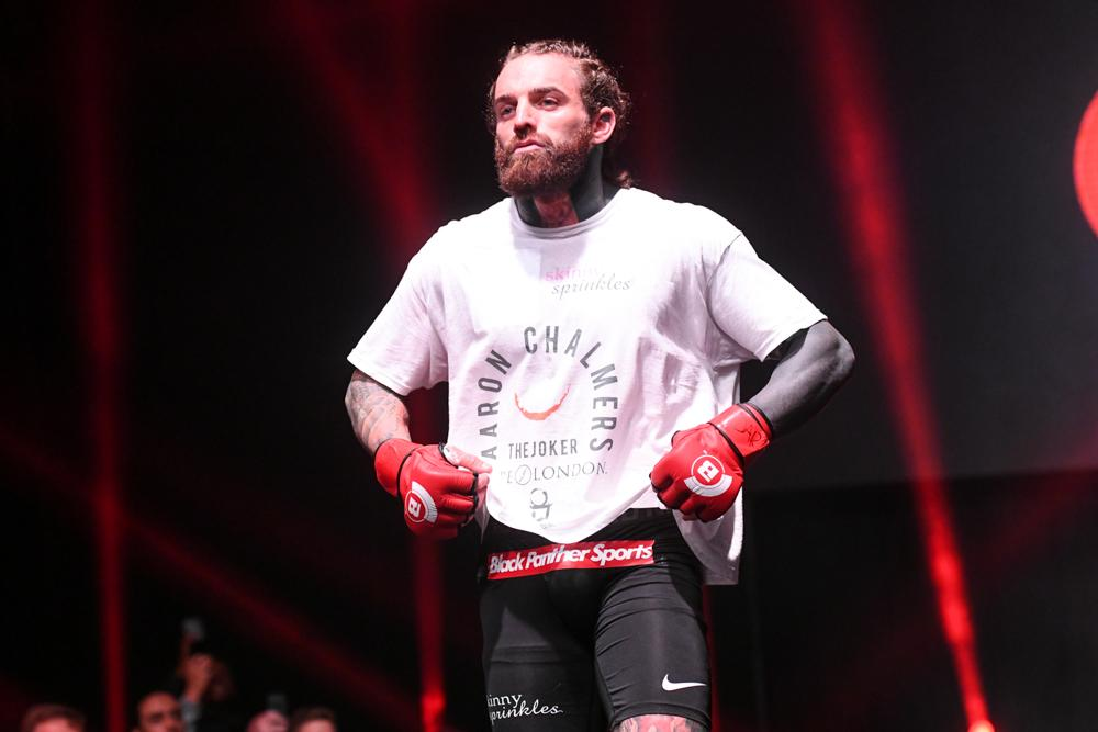 Aaron Chalmers is building a reputation for himself with four wins from four in MMA