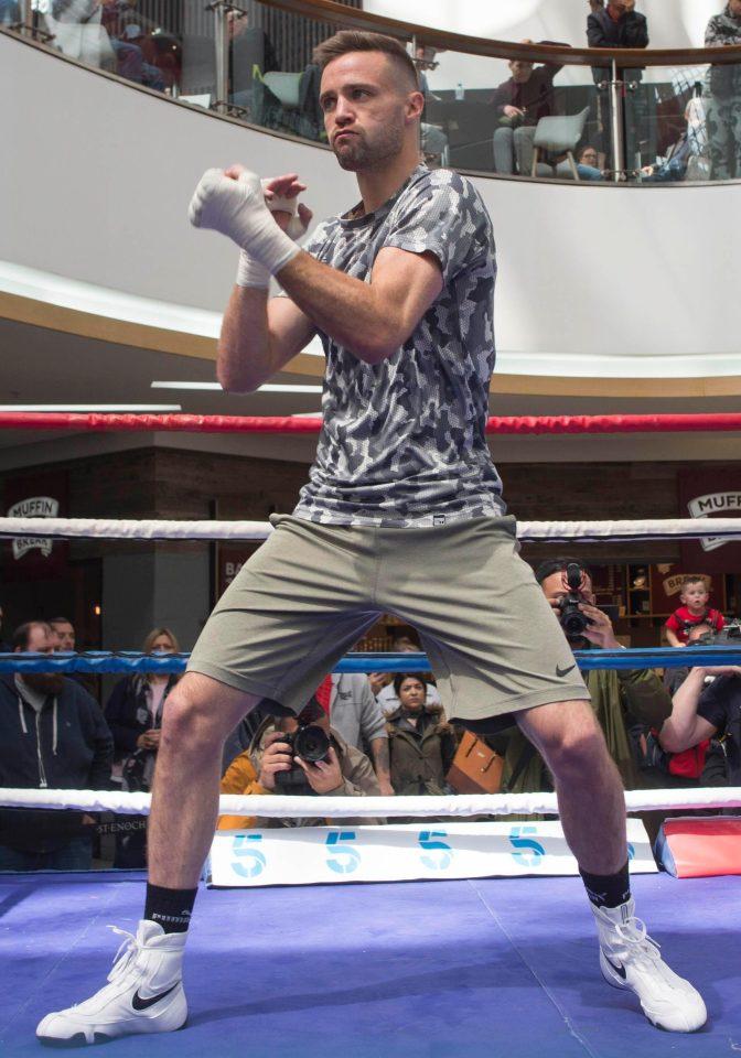 The Tartan Tornado meetsViktor Postol in a final eliminator for the WBCsuper lightweight title