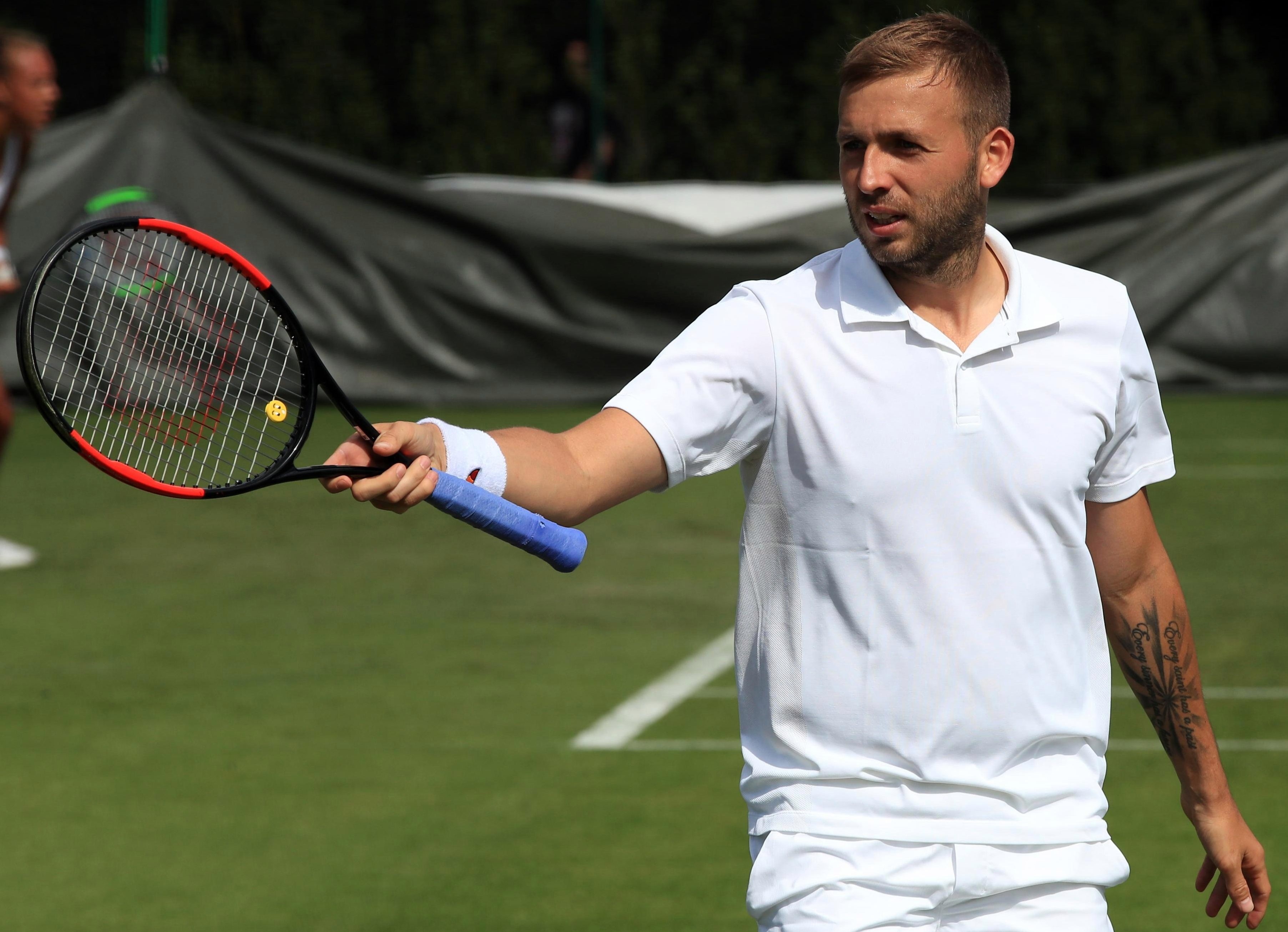 Dan Evans has been denied a wildcard and must pre-qualify