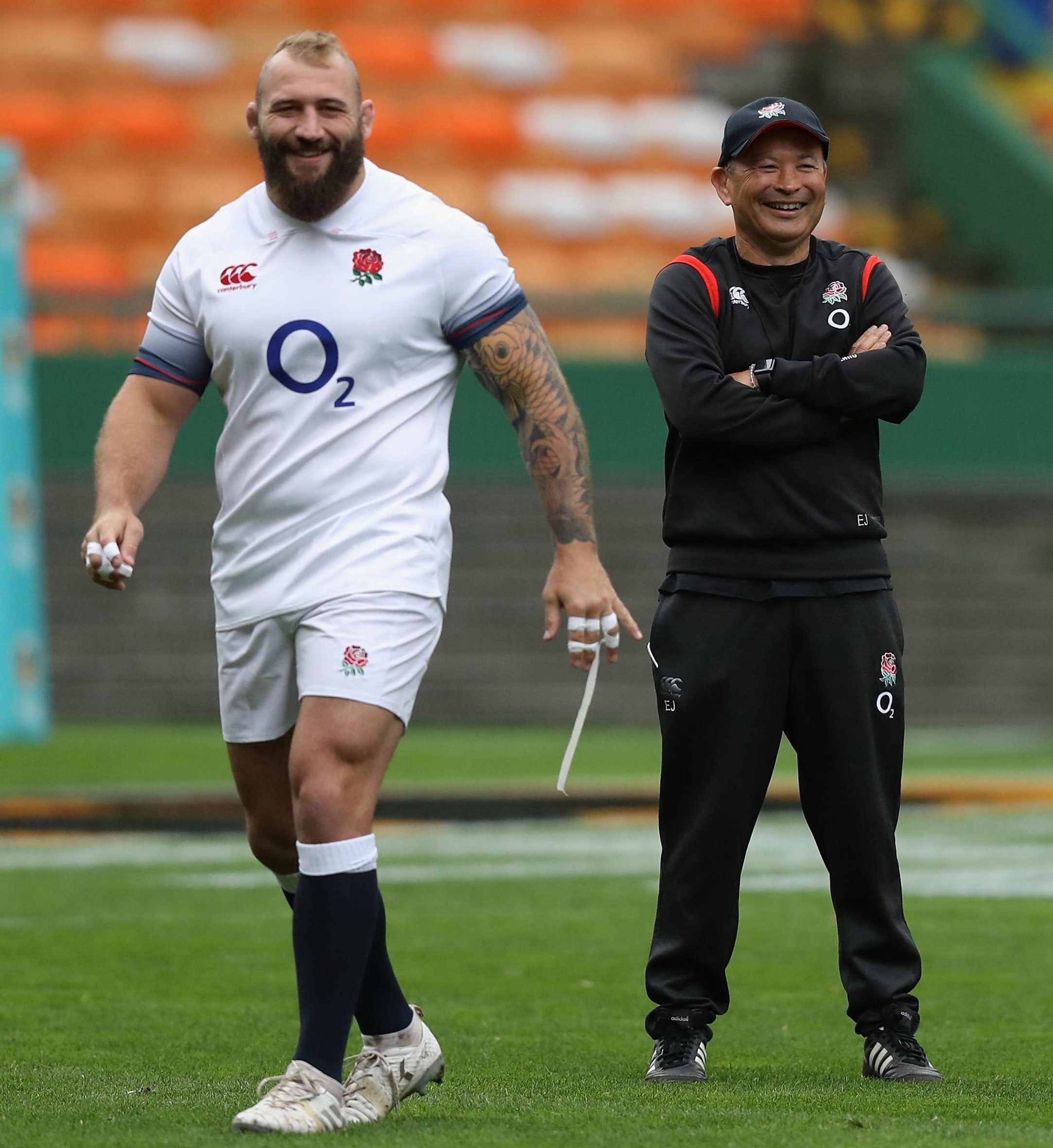 Red Rose prop Joe Marler jokes with coach Eddie Jones but England need to win the Third Test to avoid a whitewash in South Africa