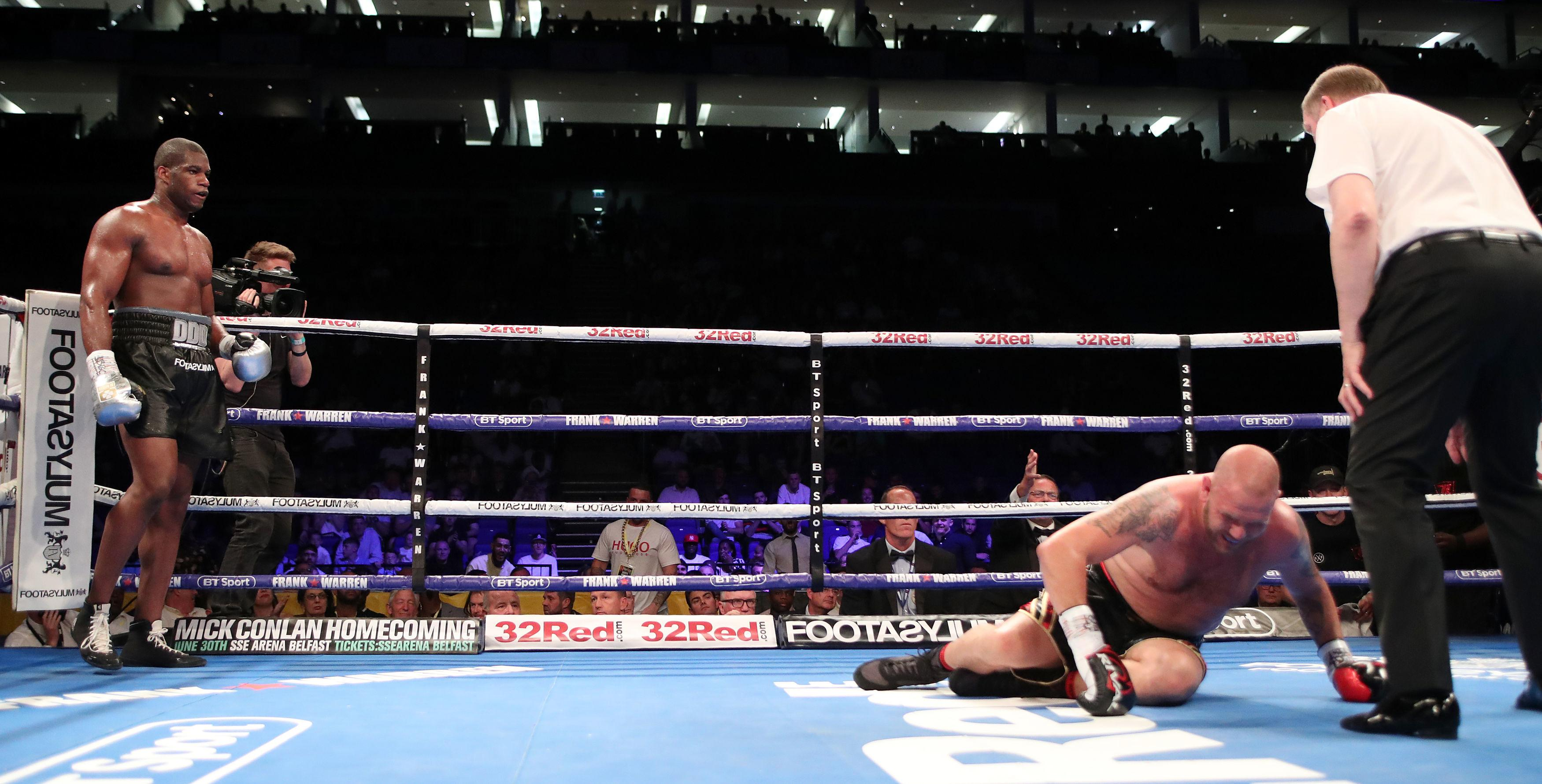 Daniel Dubois won his his first major title with an impressive win against Tom Little