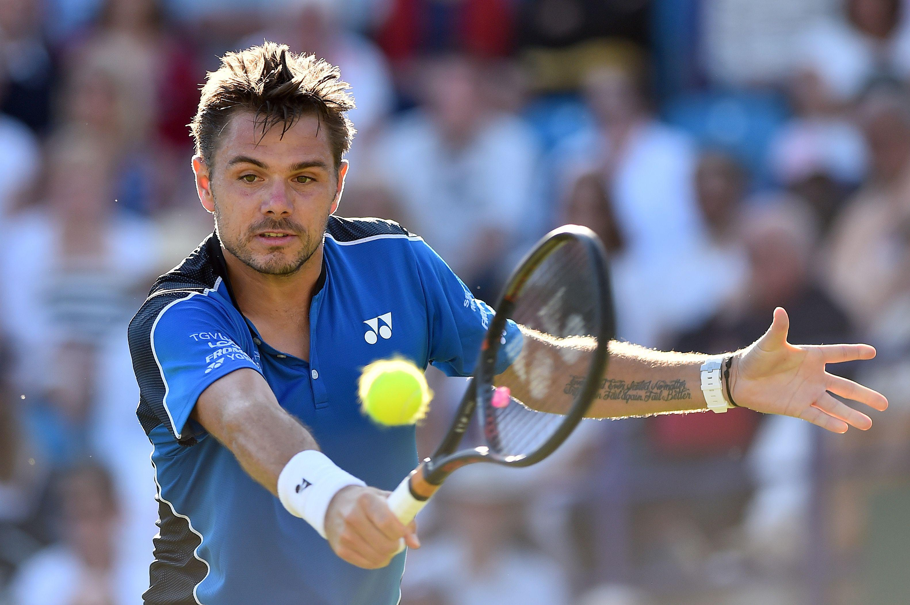 Stan Warwinka will feature at Wimbledon but, like Andy Murray, is still forging a path back from serious injury