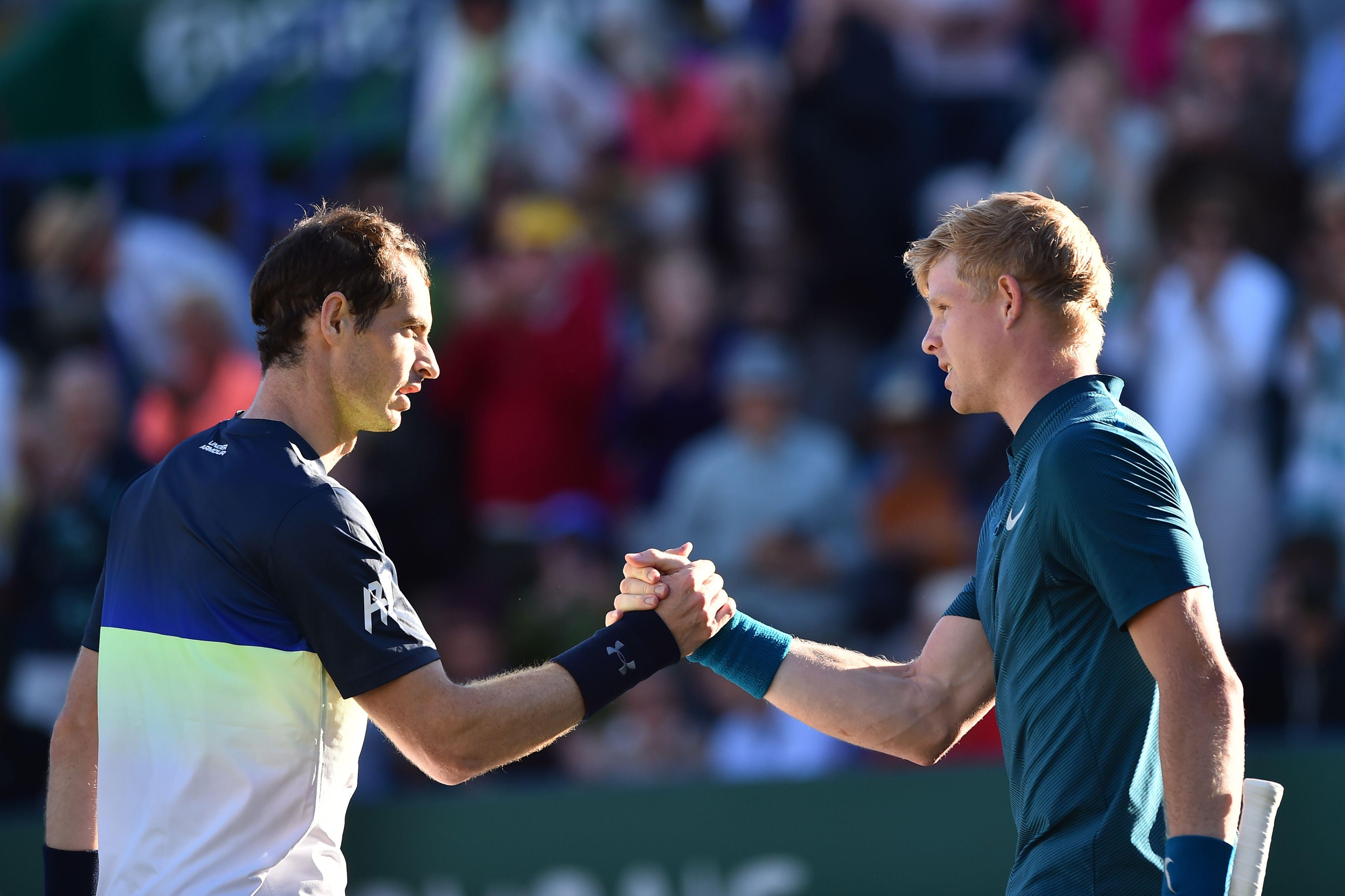 Most recently, Andy Murray lost to Kyle Edmund at Eastbourne