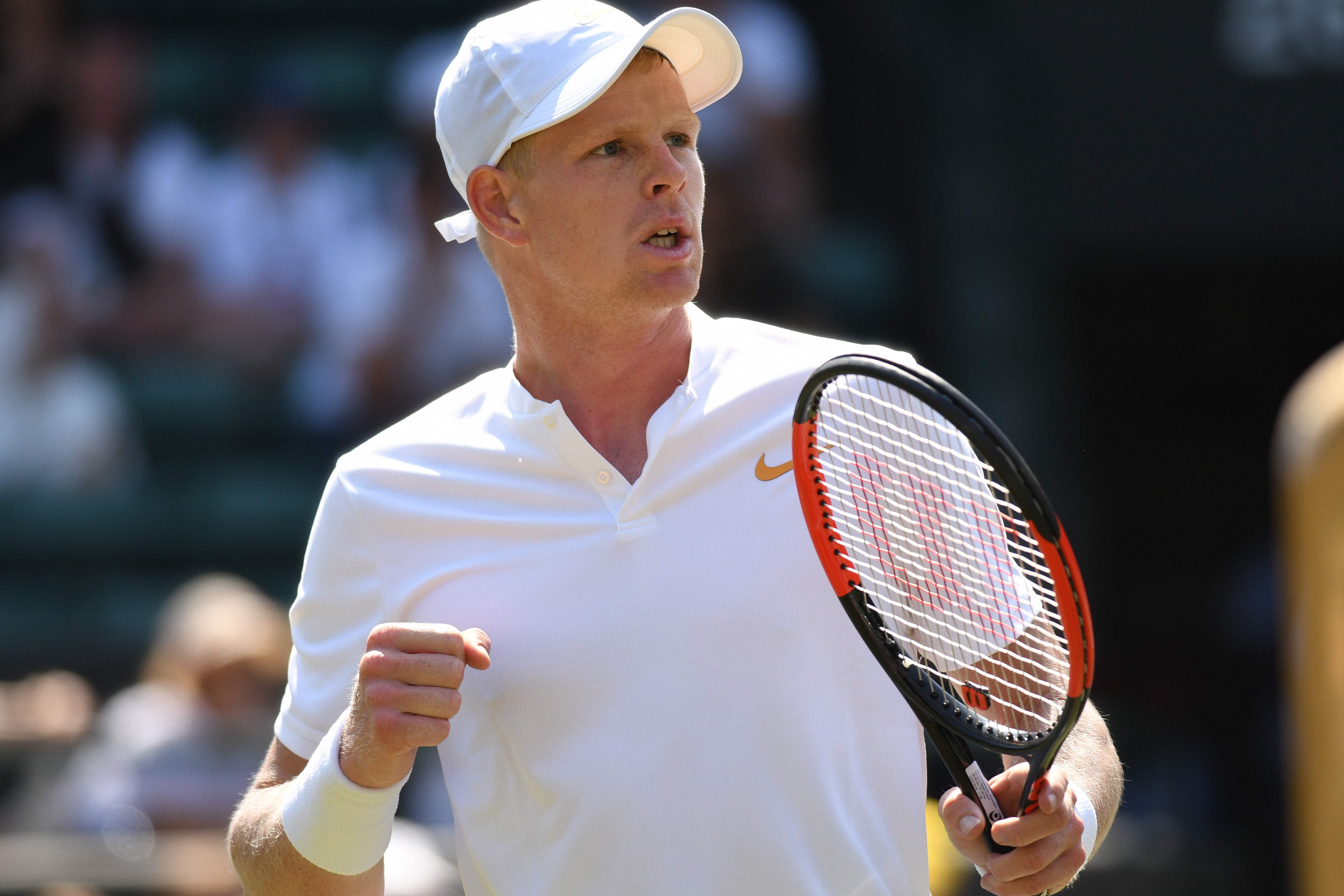 Kyle Edmund could be on court in the third round at Wimbledon at the same time England face Sweden in Russia