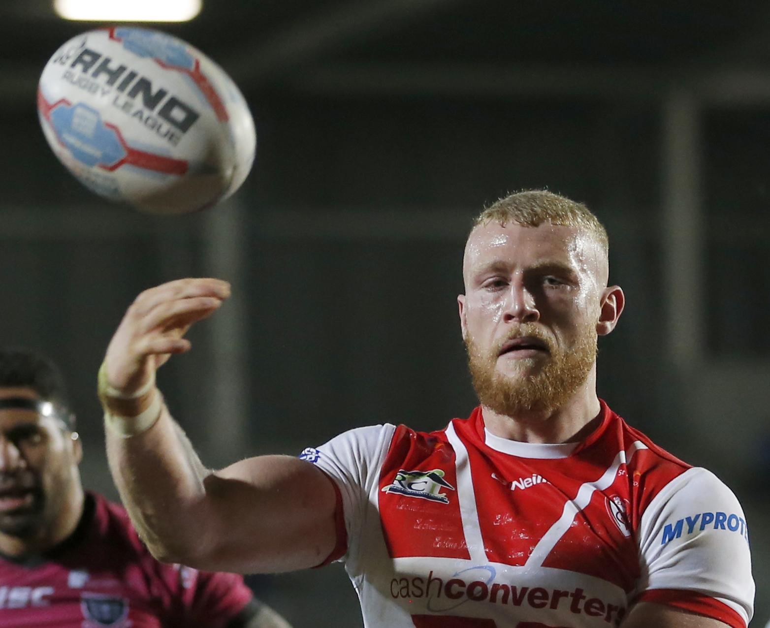 St Helens' Luke Thompson may make his way into the England squad