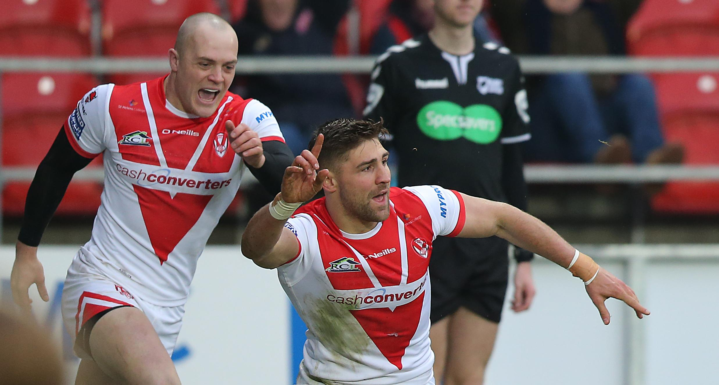 St Helens star Tommy Makinson has also been called up by England