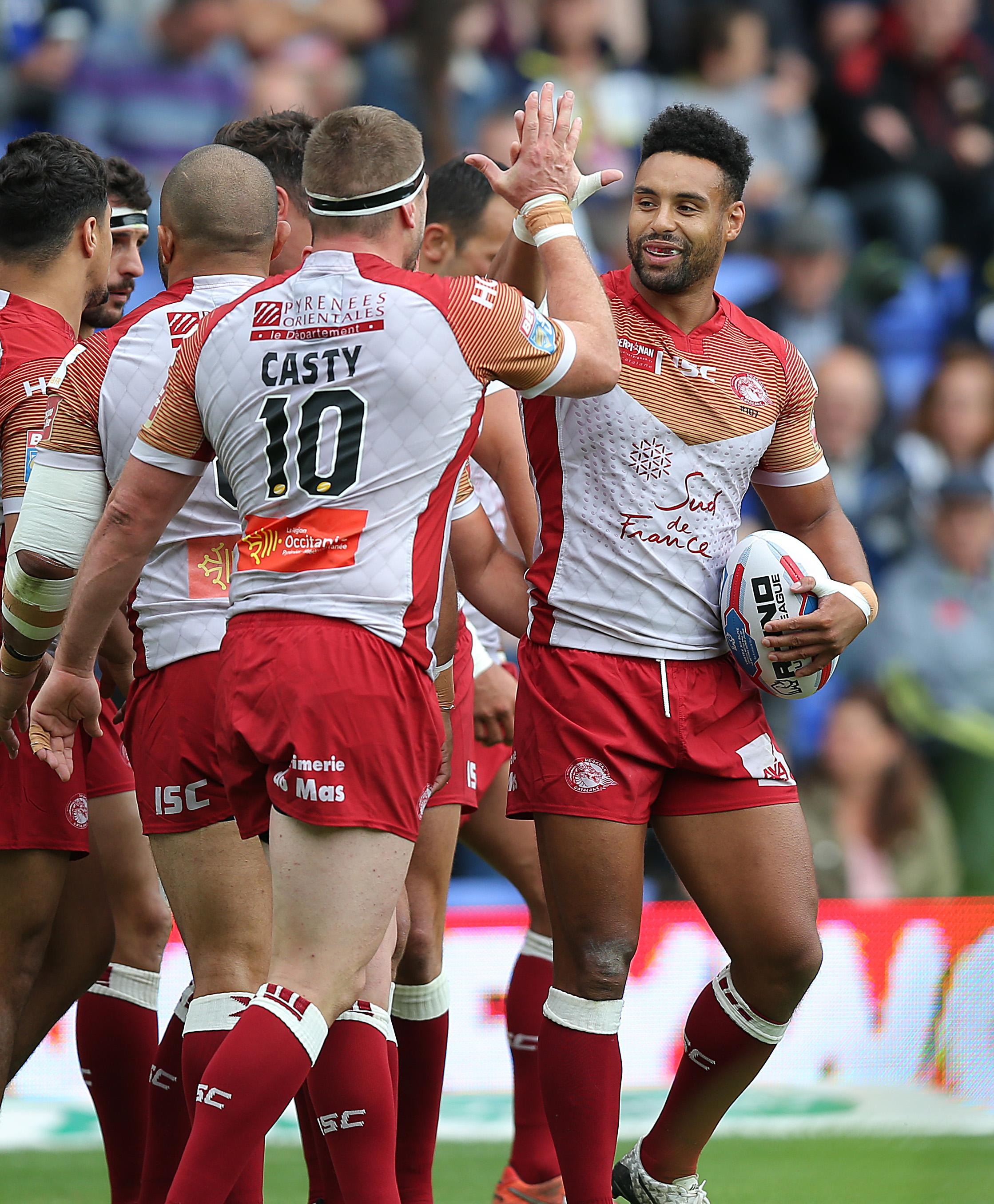Warrington face Catalans Dragons at Wembley