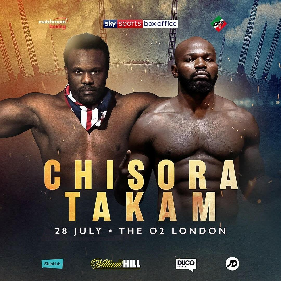 Two heavyweight's will clash at the 02 on July 28