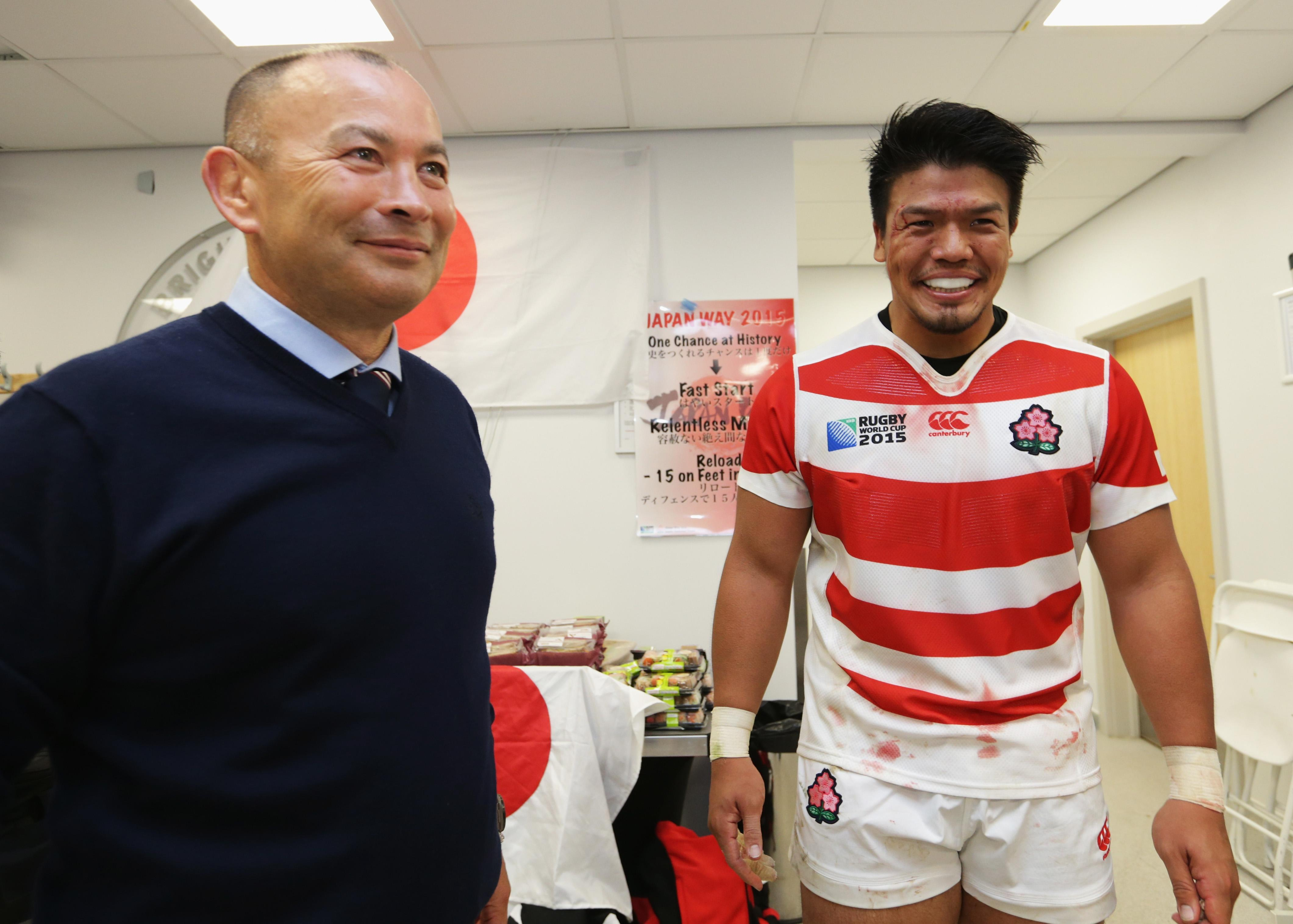 Jones bossed Japan to their most famous ever win - over South Africa in the 2015 World Cup