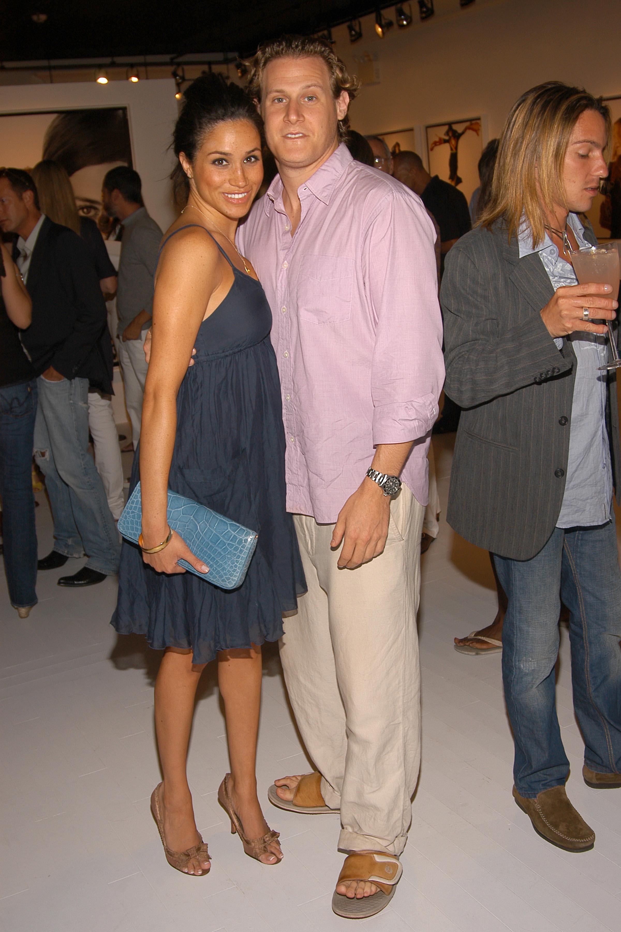 Meghan Markle's ex-husband Trevor Engelson gets engaged ...