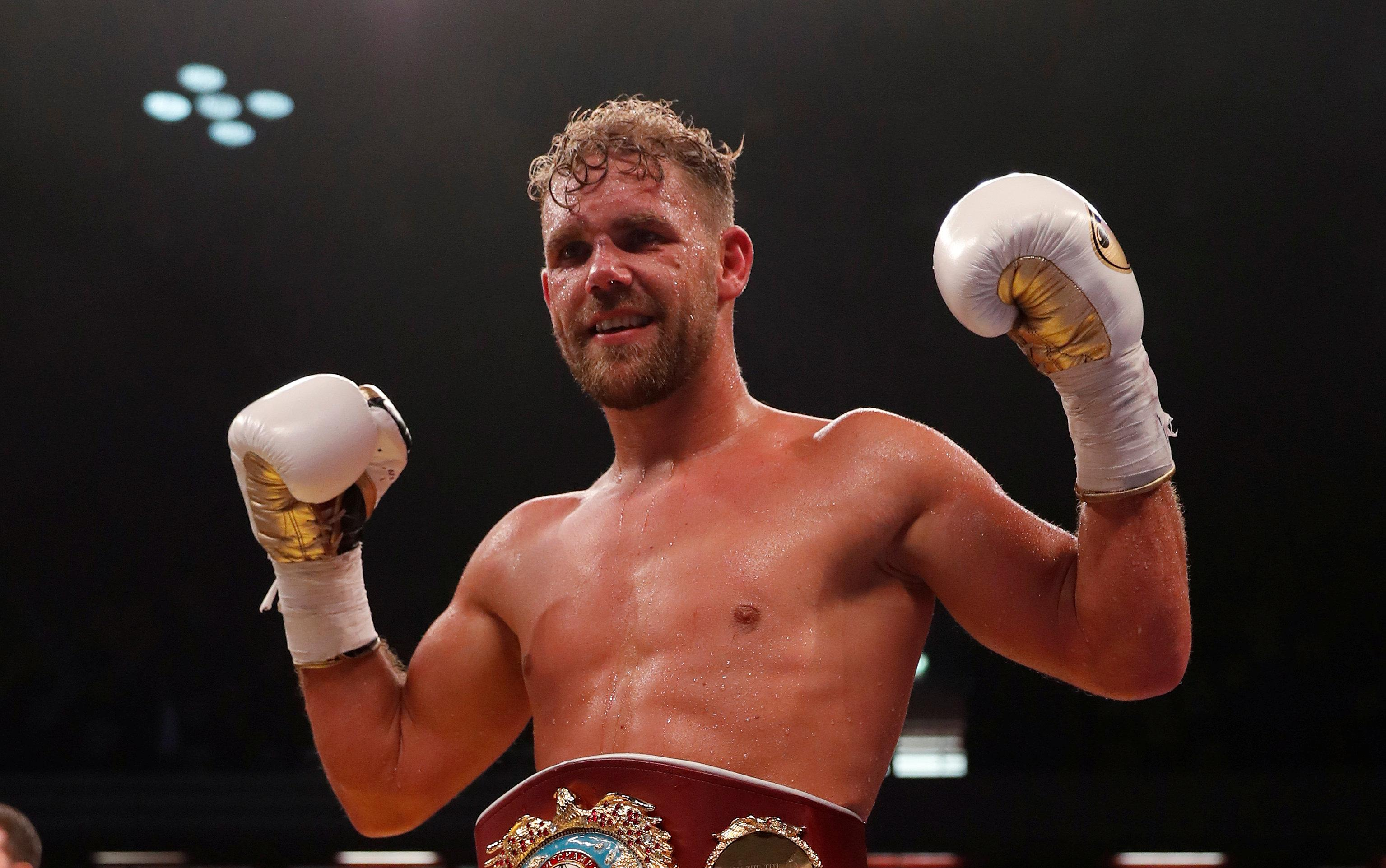 Billy Joe Saunders has pulled out of two world title defences against Martin Murray with injury