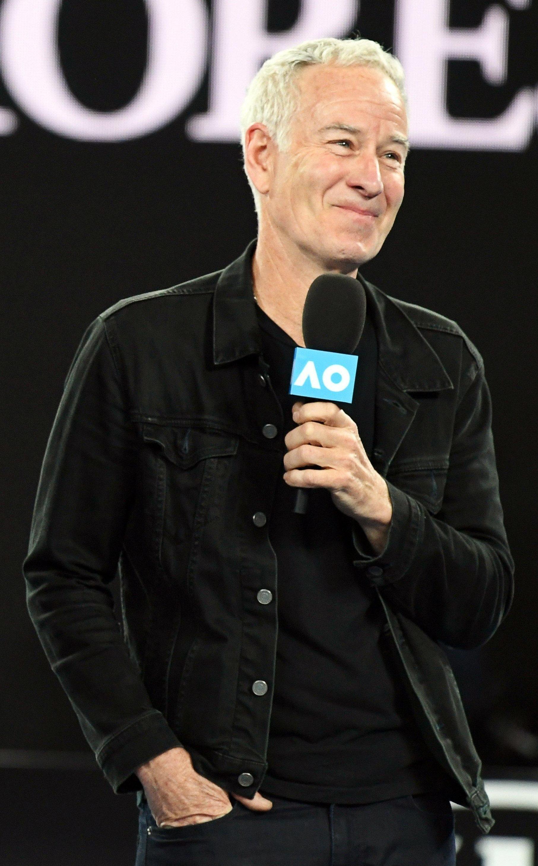 John McEnroe is a tennis legend with faith in a UK star