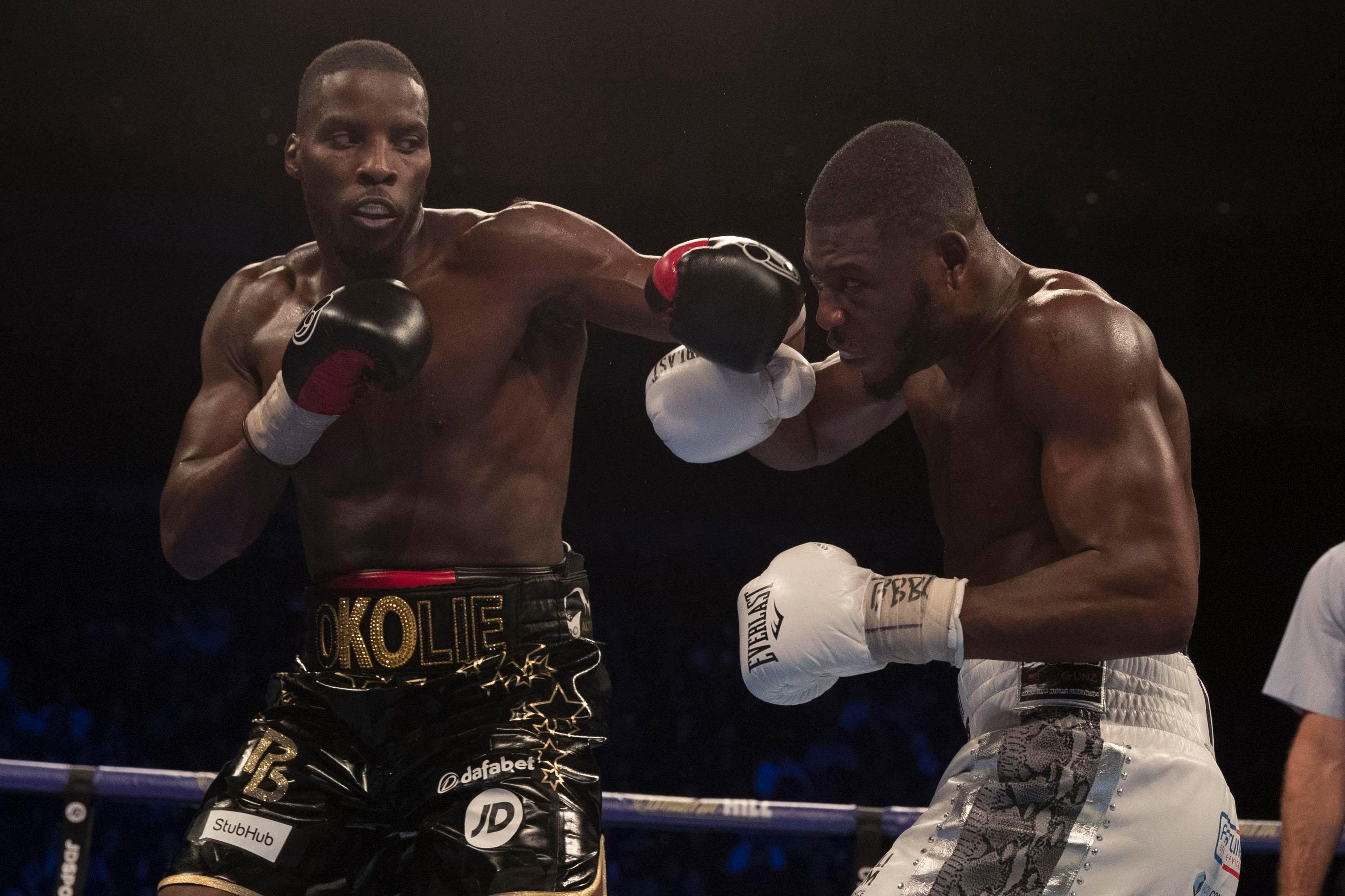 The Swindon based fighter faces the up-and-coming Okolie