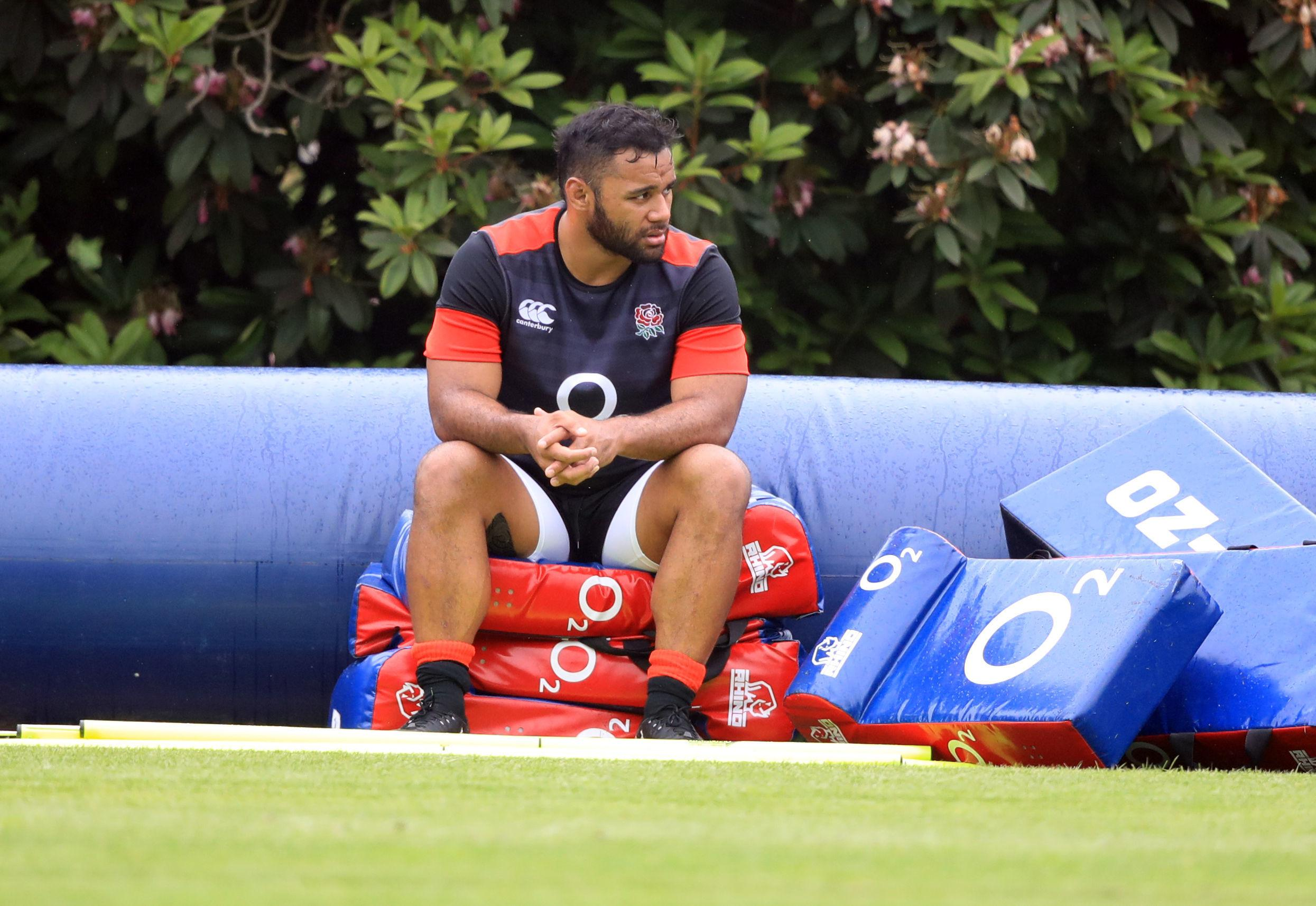 Billy Vunipola might have to sit out of the England vs South Africa Test