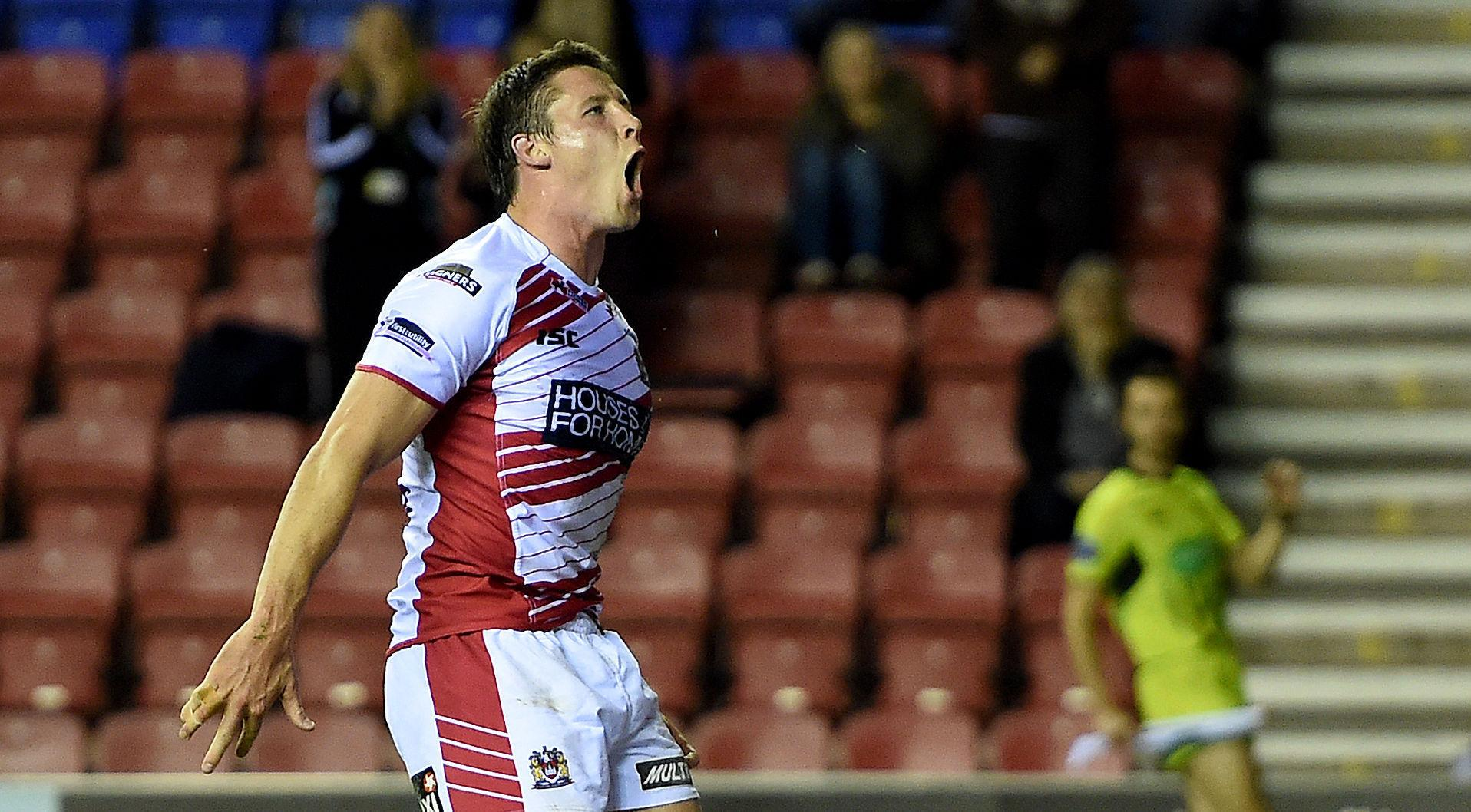 He returned to Wigan Warriors in 2014 from rugby union