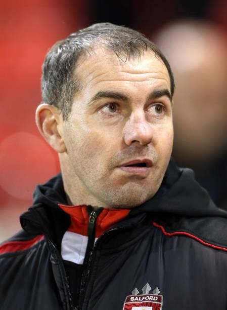 Salford coach Ian Watson admits he is down to his last 17 fit players