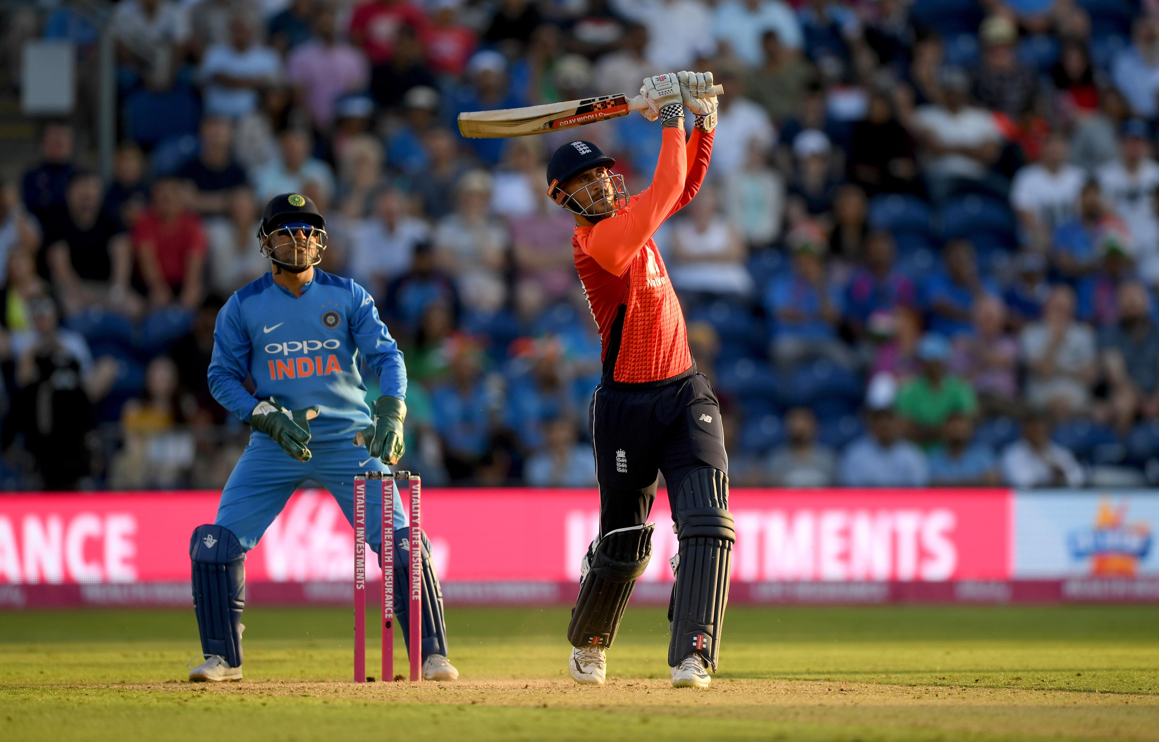 Alex Hales fired England to a series-levelling victory in Cardiff on Friday
