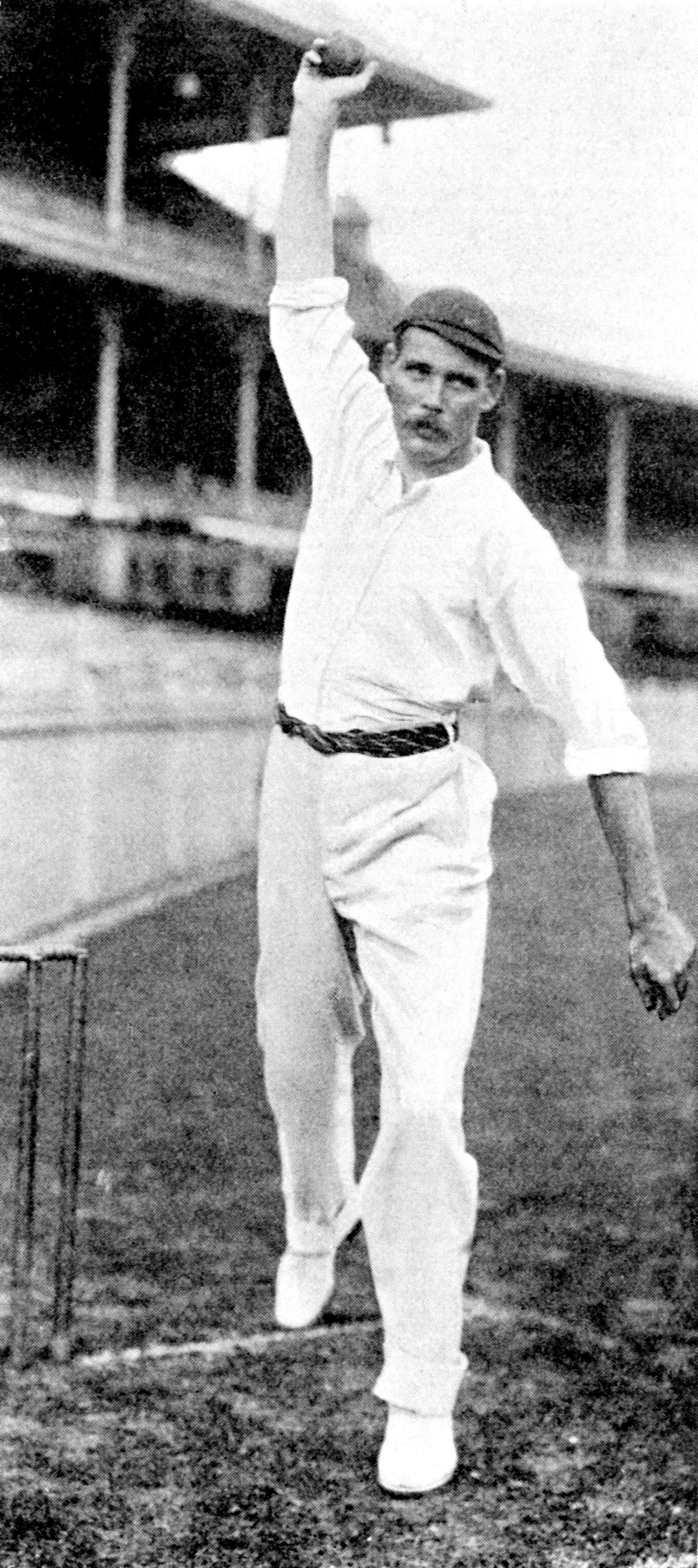Sydney Barnes took 189 wickets in 27 Tests but his ashes couldn't be scattered at Lords