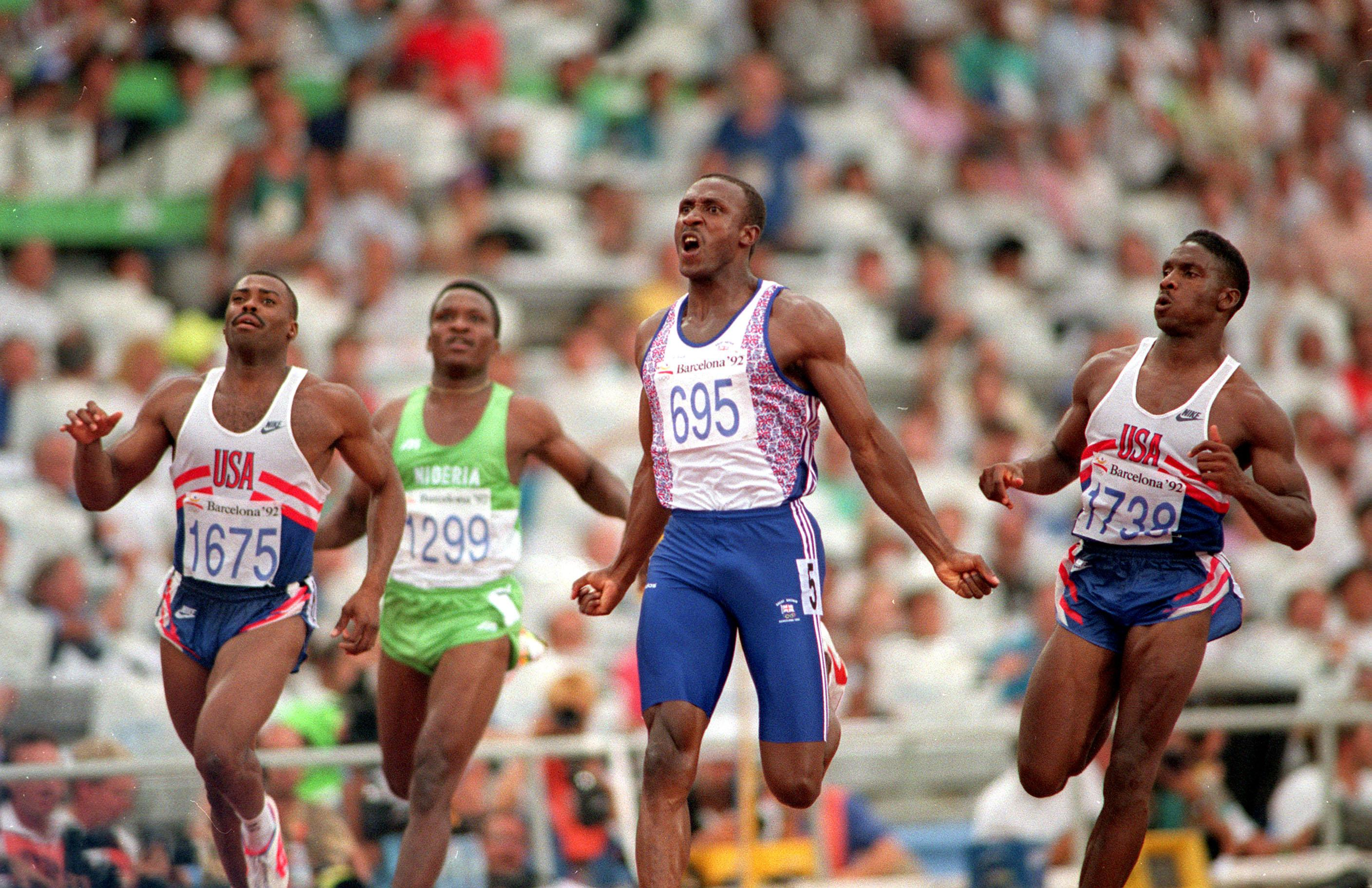 Linford Christies mark of 9.87sec from 1993 still stands as the British record