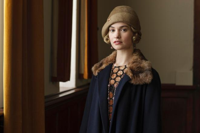 Lily James won't be starring in the Downton Abbey film