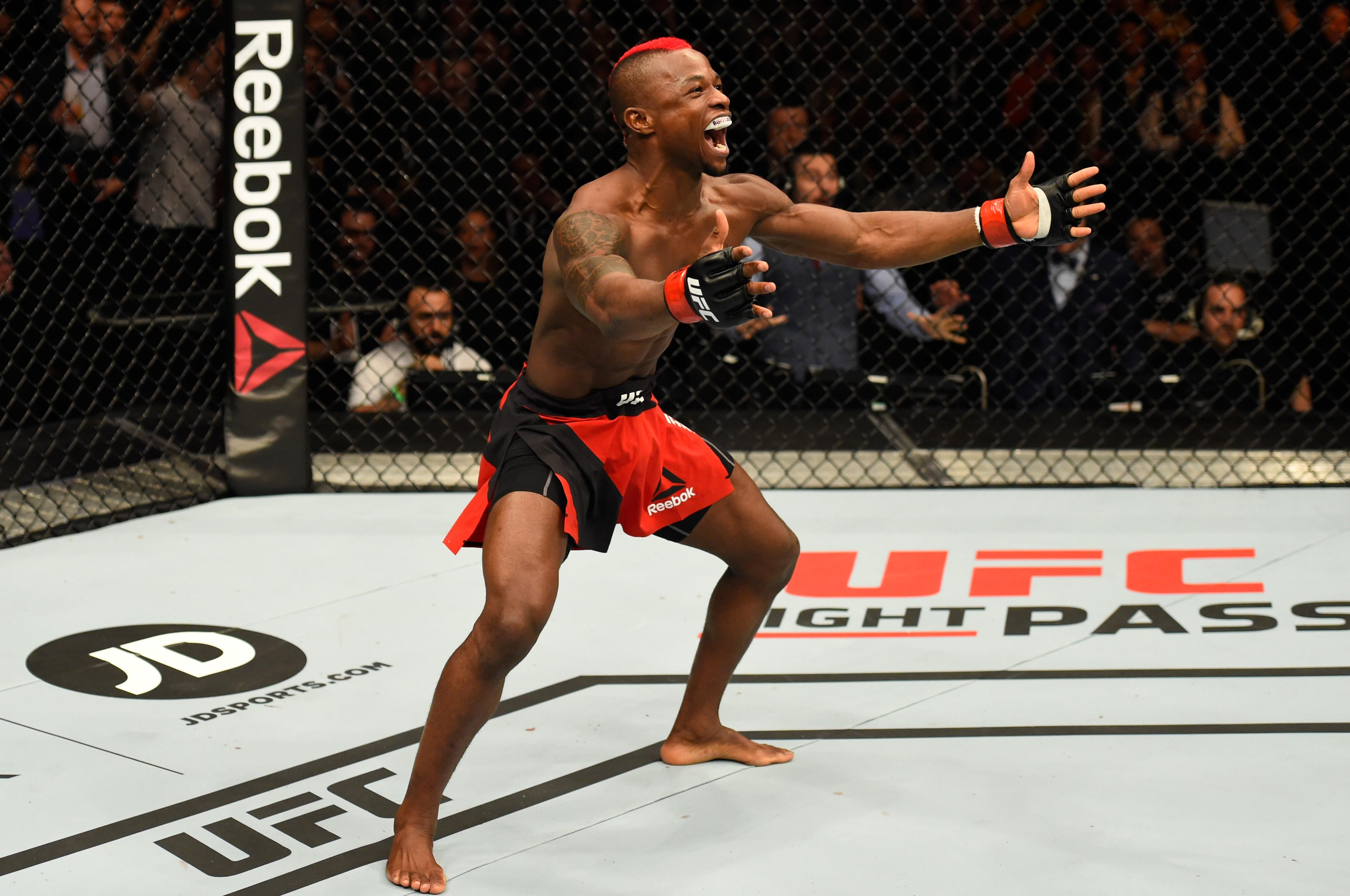 Lightweight Diakiese is welcoming the challenge of fighting away from home