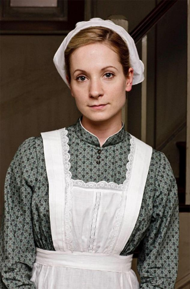 Joanne Froggat got her first big TV break in Downton Abbey