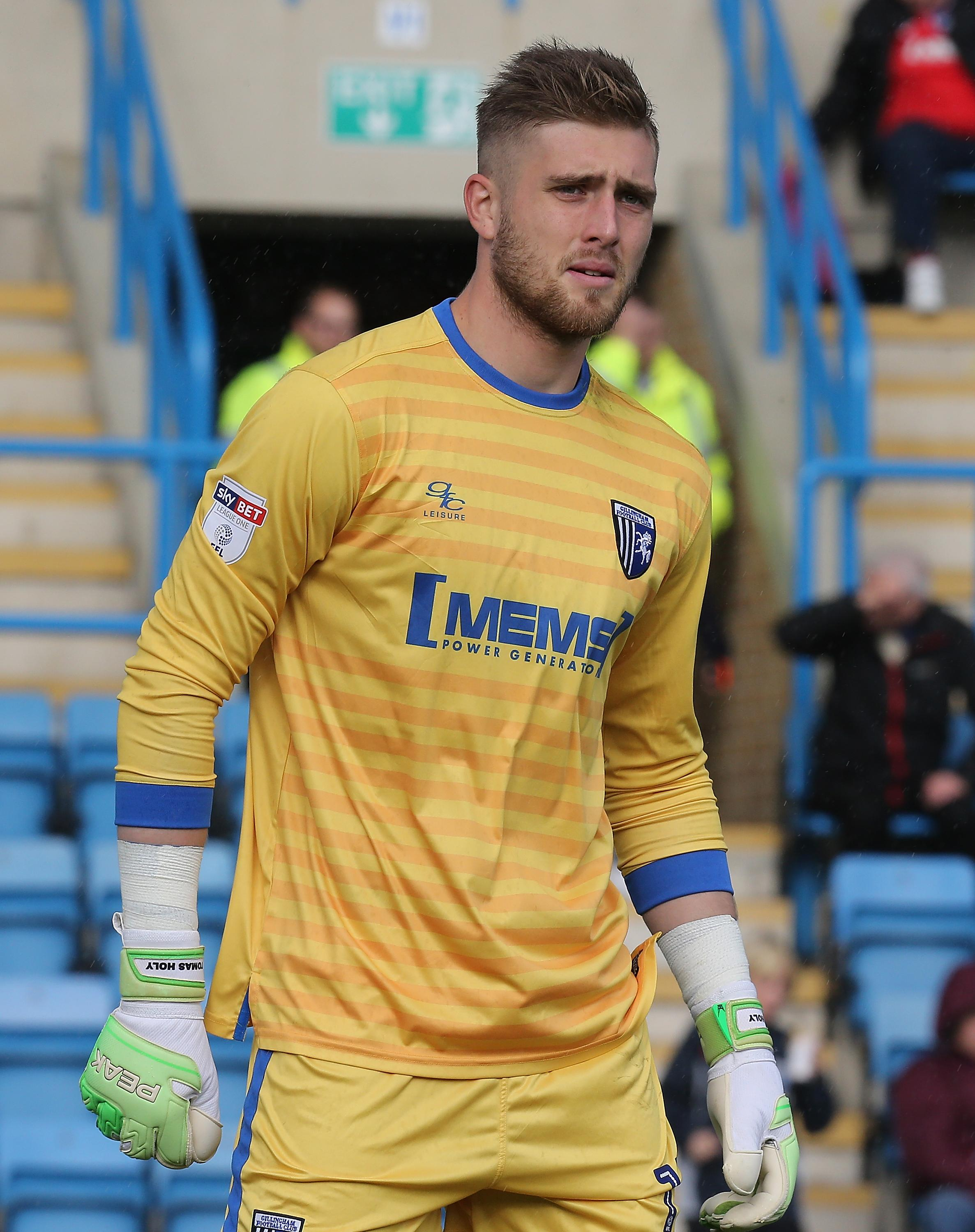 Holy produced some sparkling displays as he played all-but one match in League One for Gillingham last season