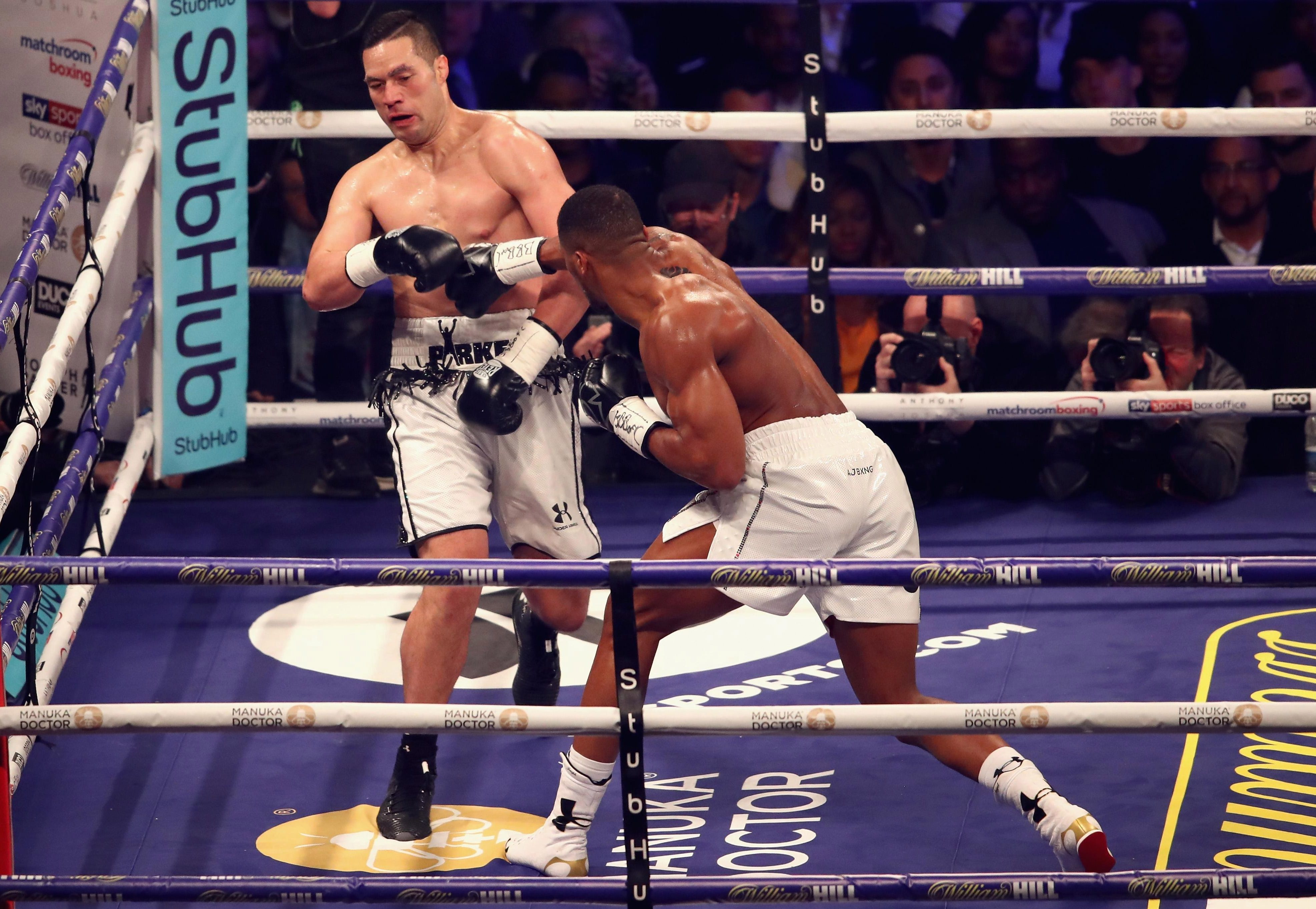 Joseph Parker was blasted by his opponent for his performance against Anthony Joshua in March