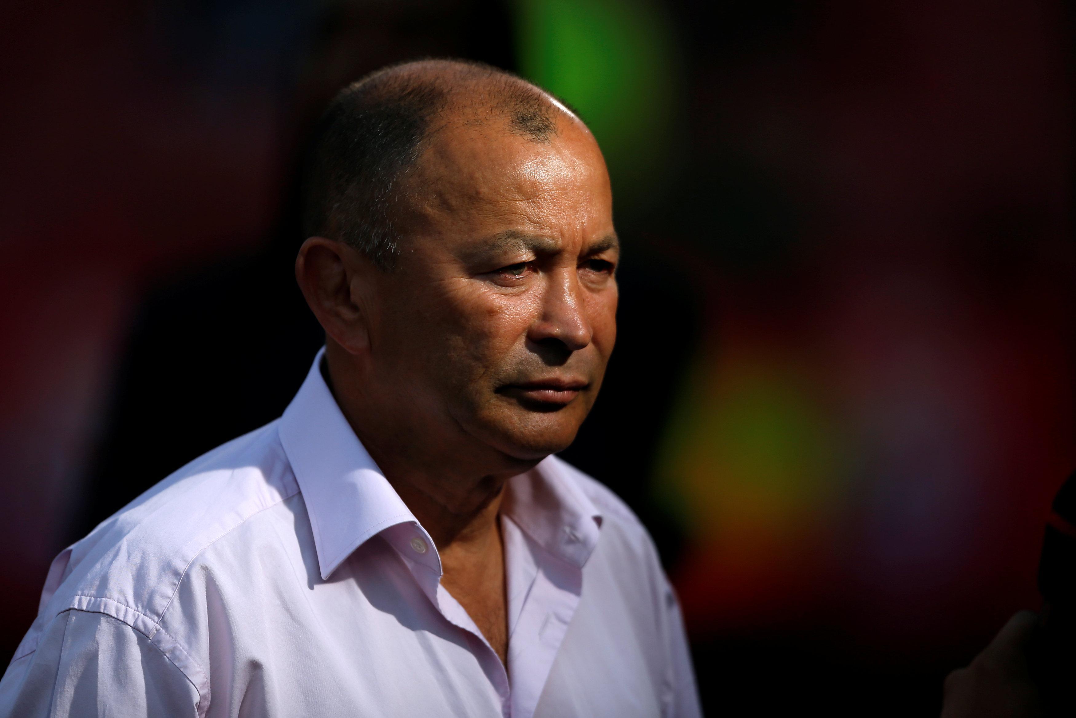 Eddie Jones will be asking England boss Gareth Southgate for tips