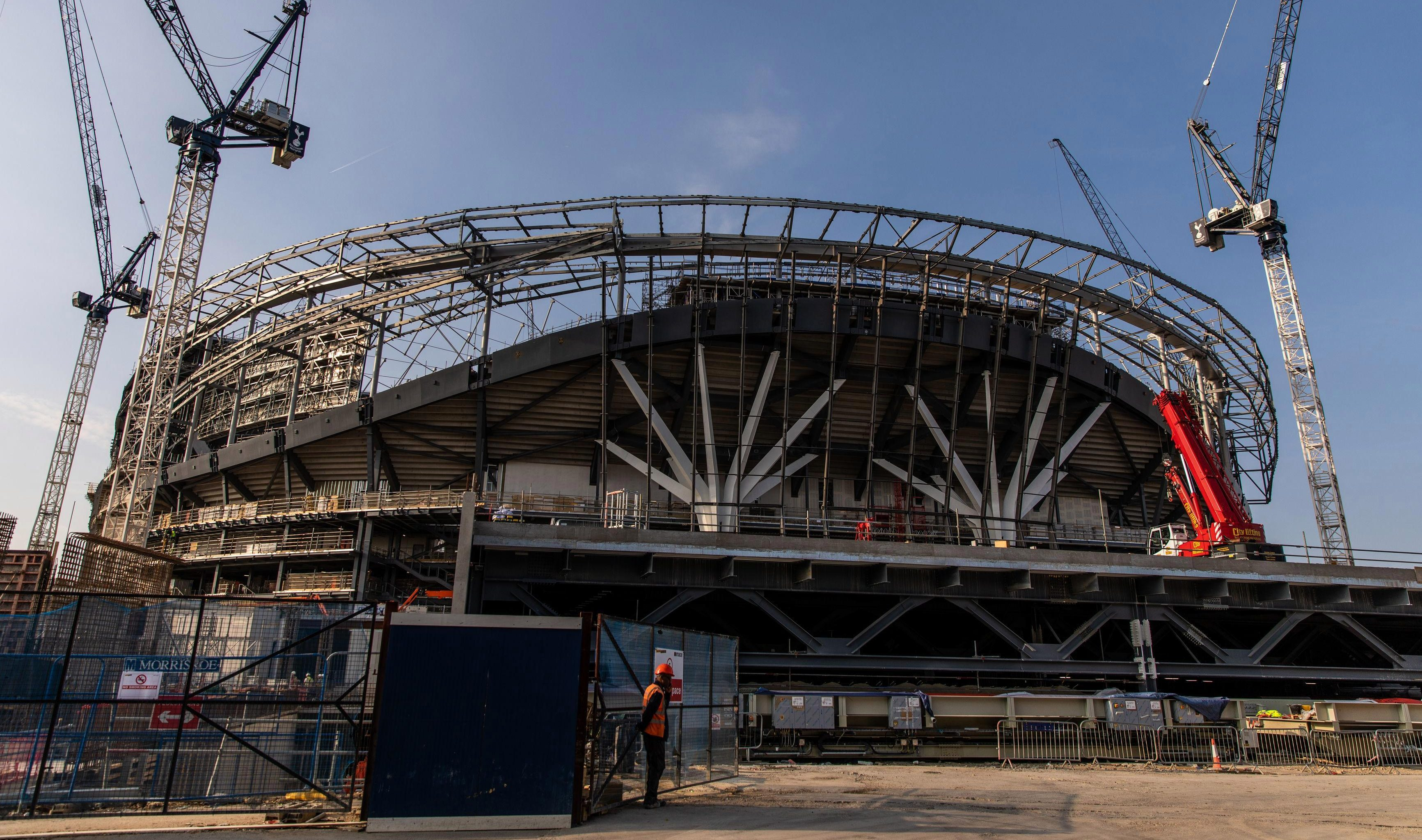 This new £850m Tottenham stadium is set to be ready for their lunchtime Premier League clash against Liverpool on September 15
