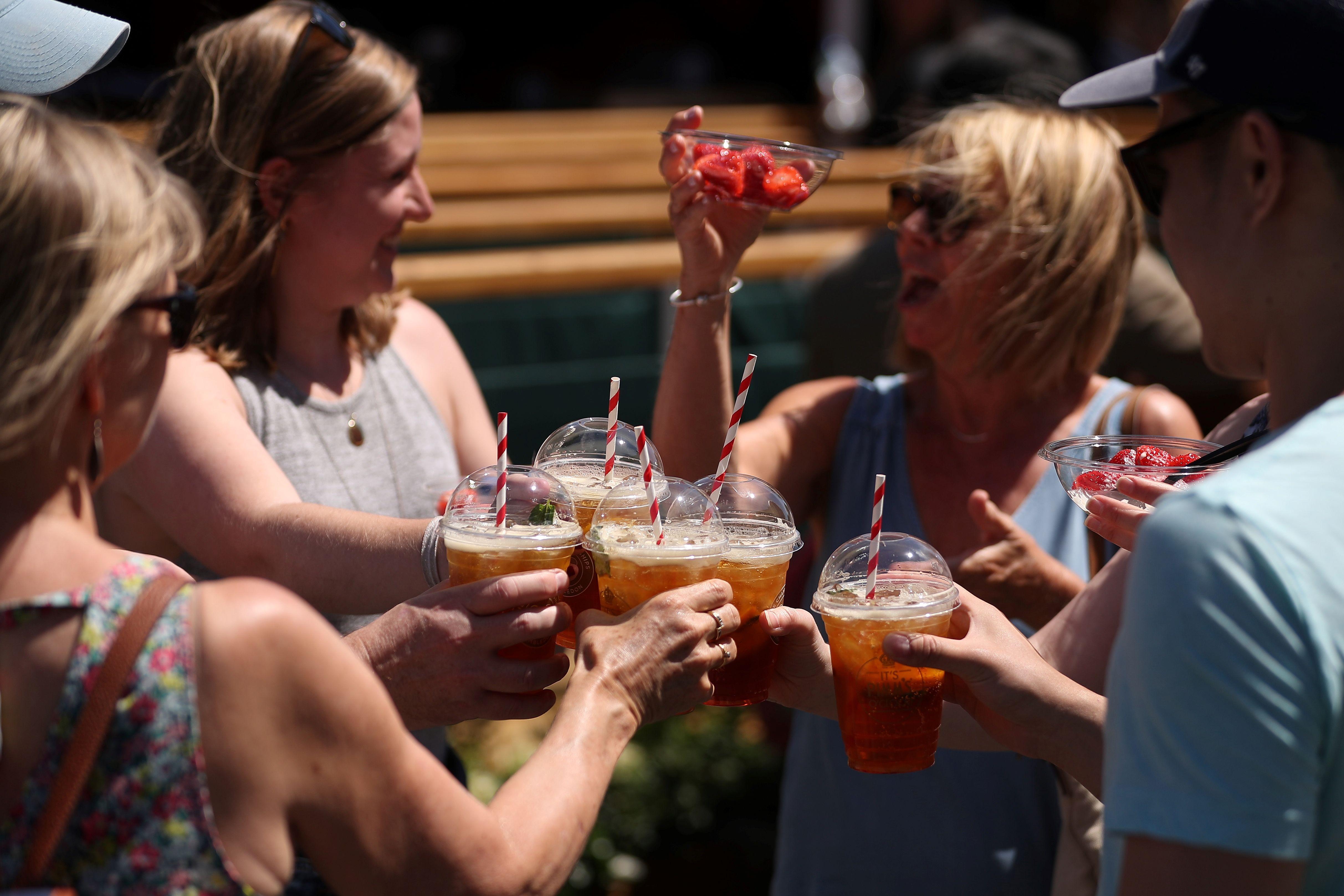 Wimbledon is trying to prevent drunken behaviour among fans