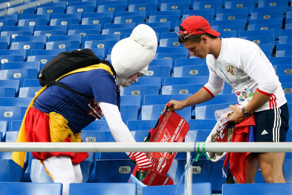 Japan fans will be awarded guests of honour after lending a helping hand