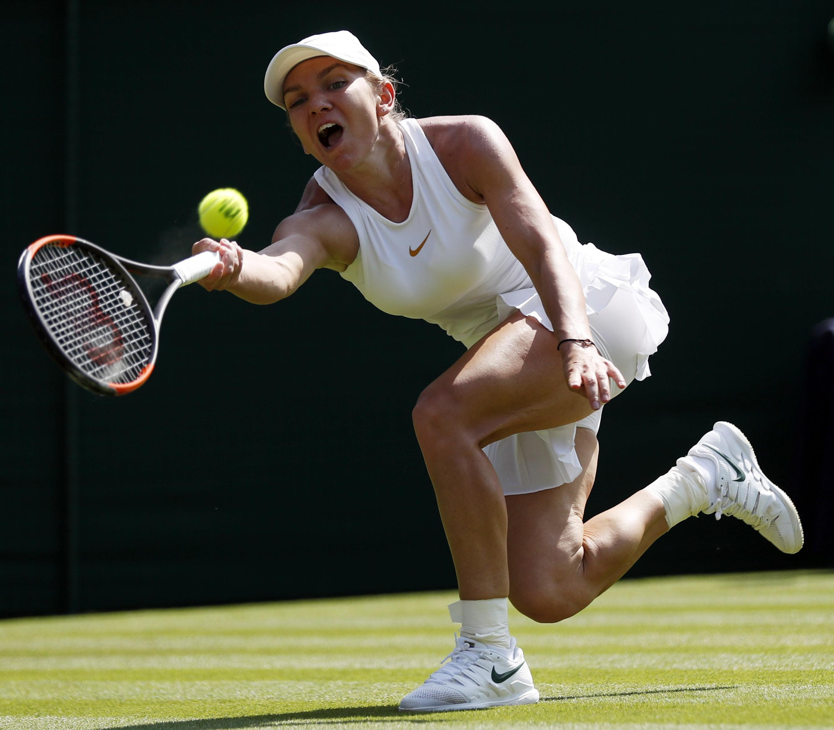 Halep is the latest seed to crash out of Wimbledon as the Ladies event was blown wide open