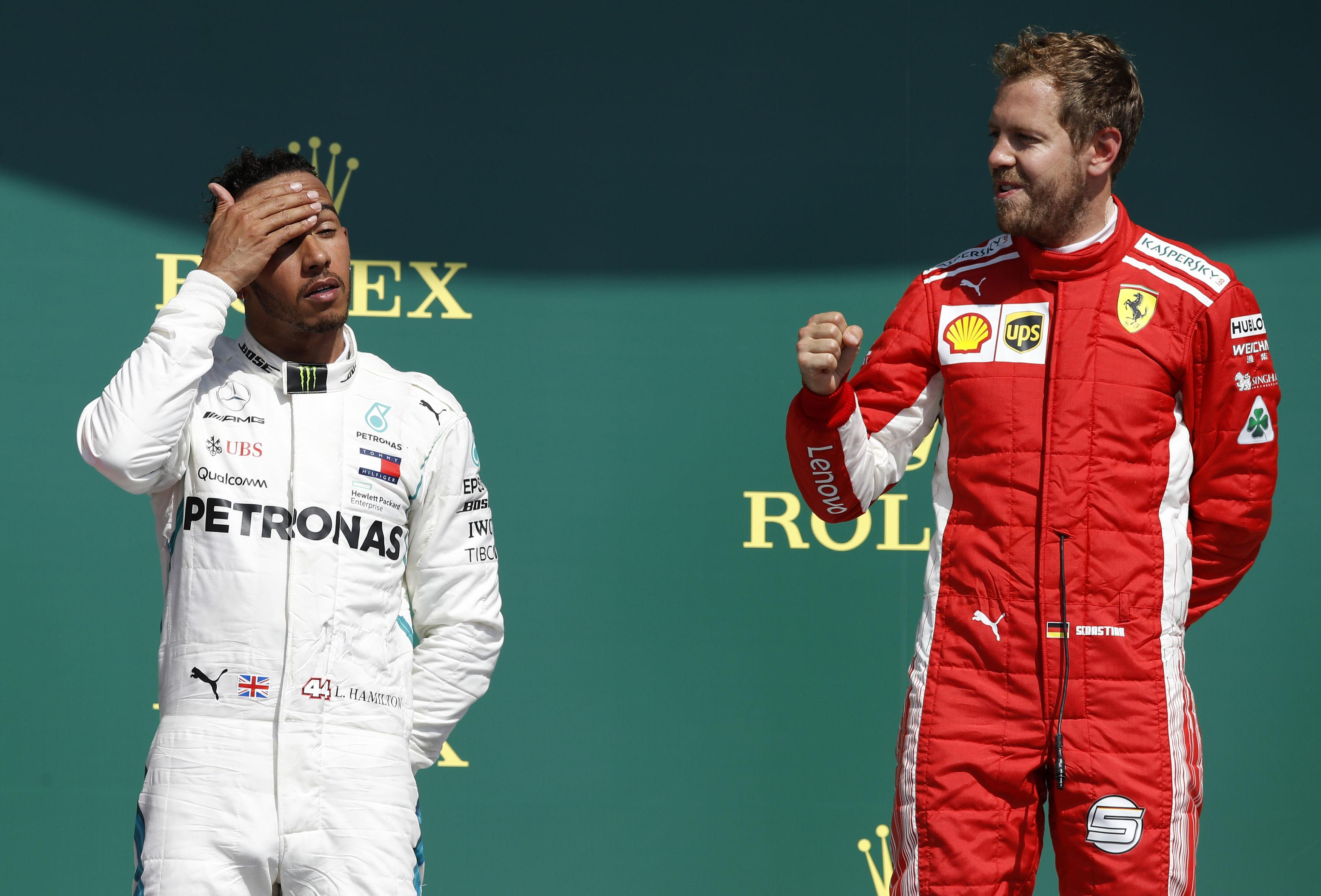 Lewis Hamilton fought back all the way from 18th to second but it still was not enough