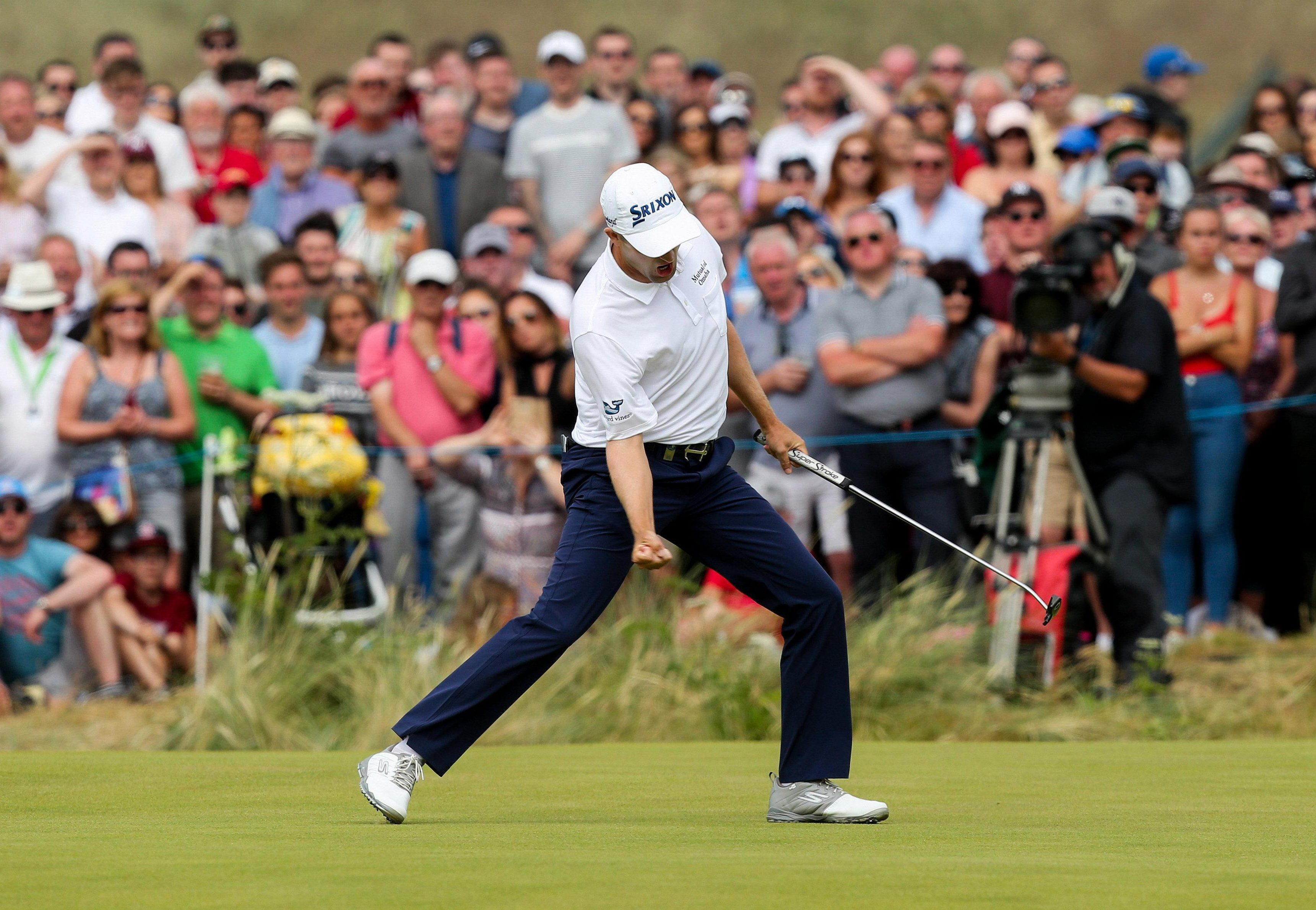 Scottish golfer Knox put himself into contention for the Ryder Cup
