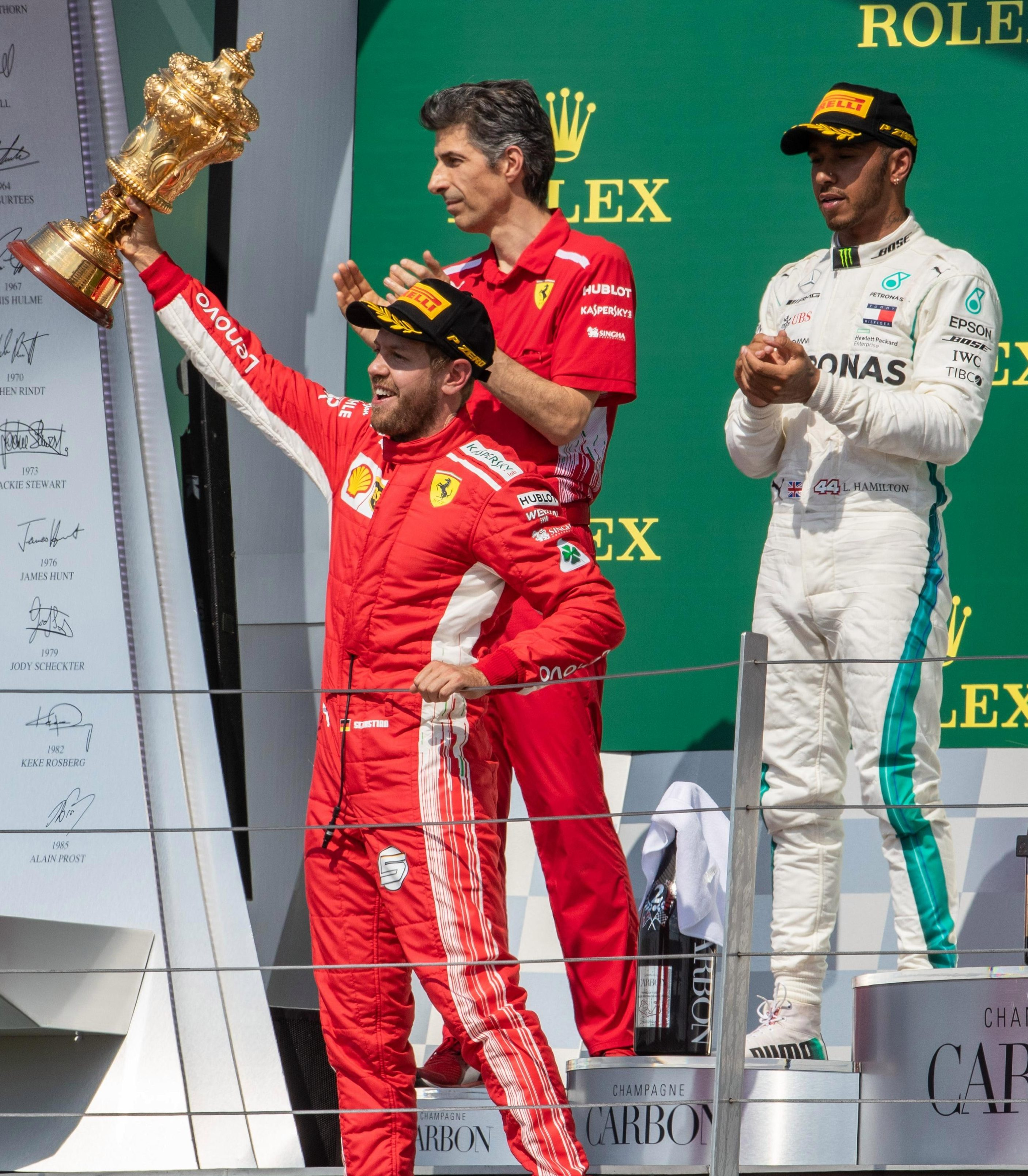 Sebastian Vettel lorded it at Silverstone and now Lewis Hamilton hopes to do the same in Germany this weekend