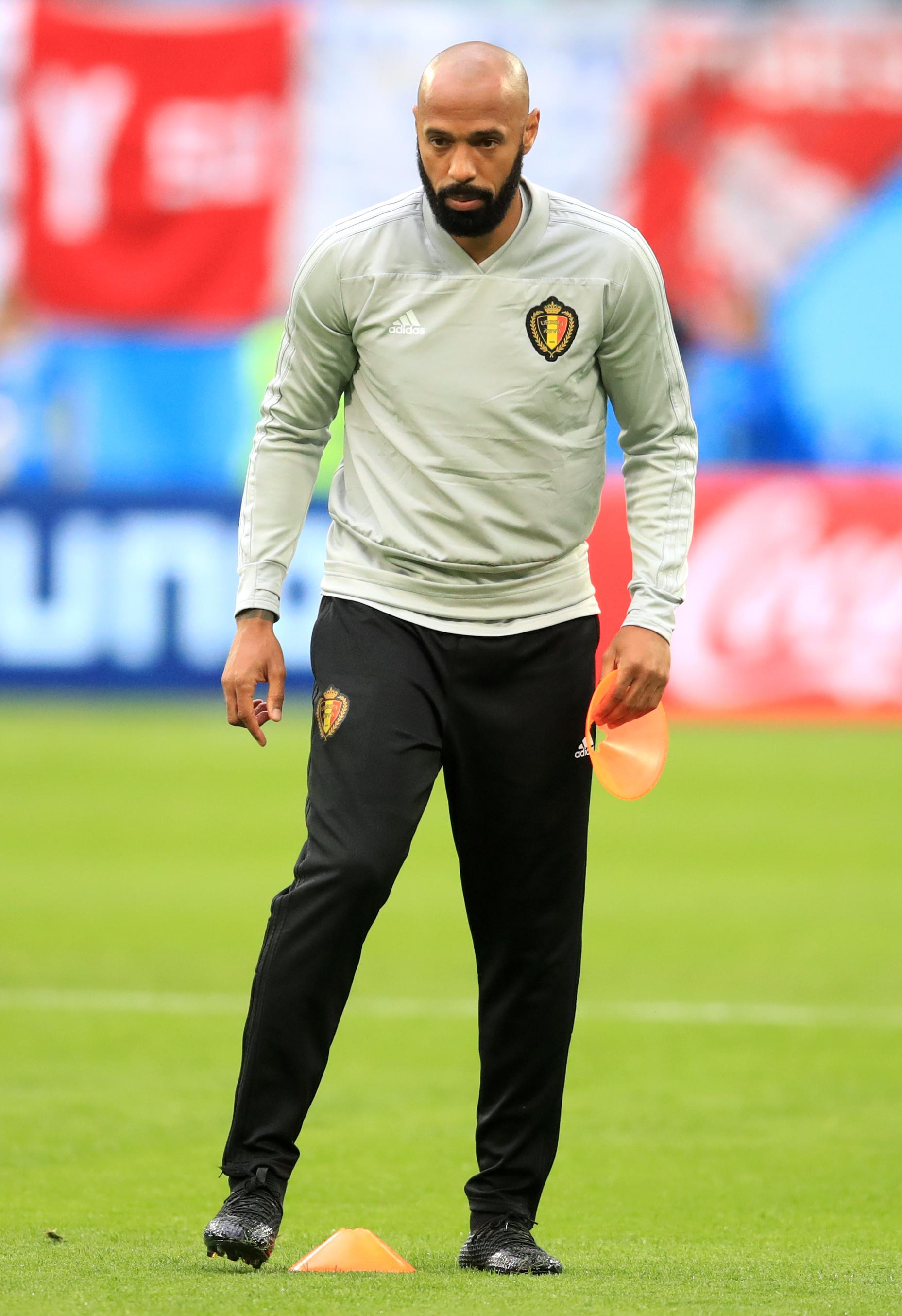As Roberto Martinez's assistant in Russia, Henry helped guide Belgium to a third-placed finish at the World Cup this summer