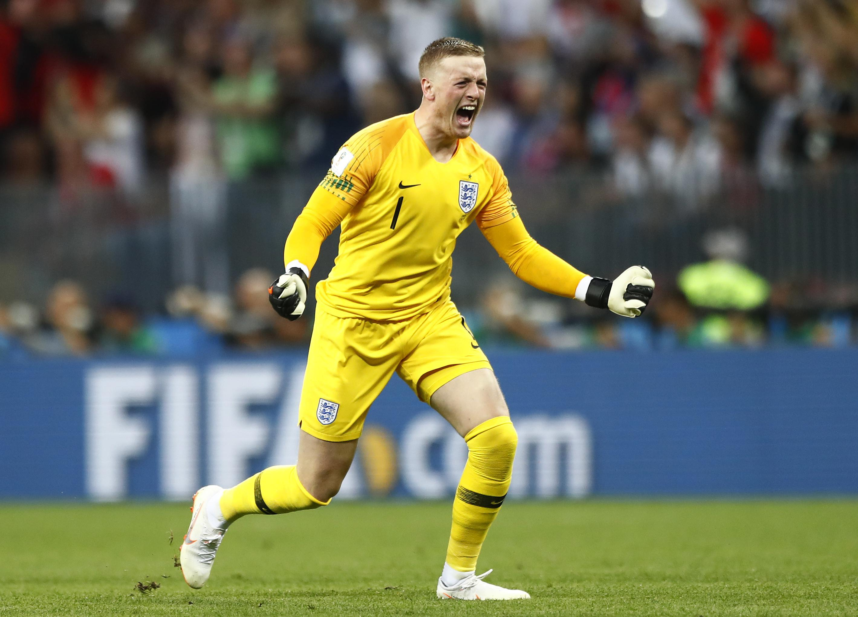 Jordan Pickford still has work to do and can do it at Everton, says David Moyes